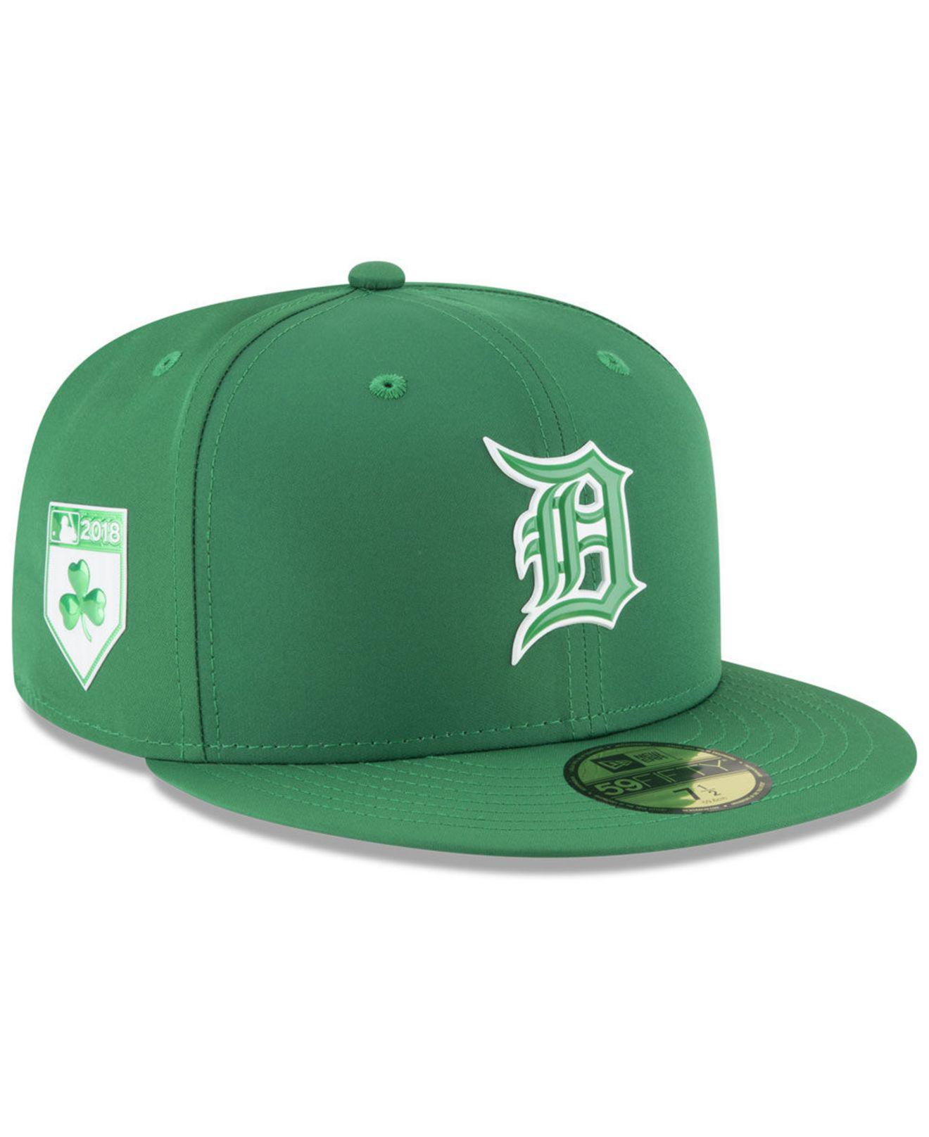 big sale c2028 422a5 Lyst - KTZ Detroit Tigers St. Patty s Day Pro Light 59fifty Fitted ...