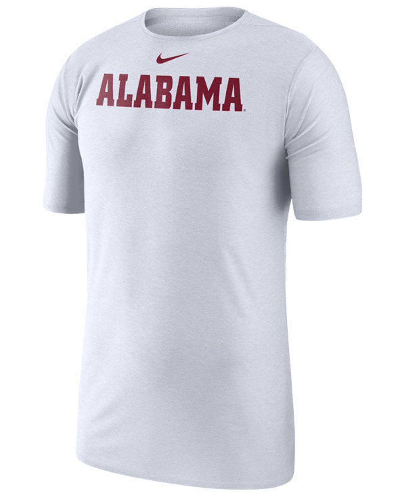 338462e7 Lyst - Nike Alabama Crimson Tide Player Top T-shirt in White for Men