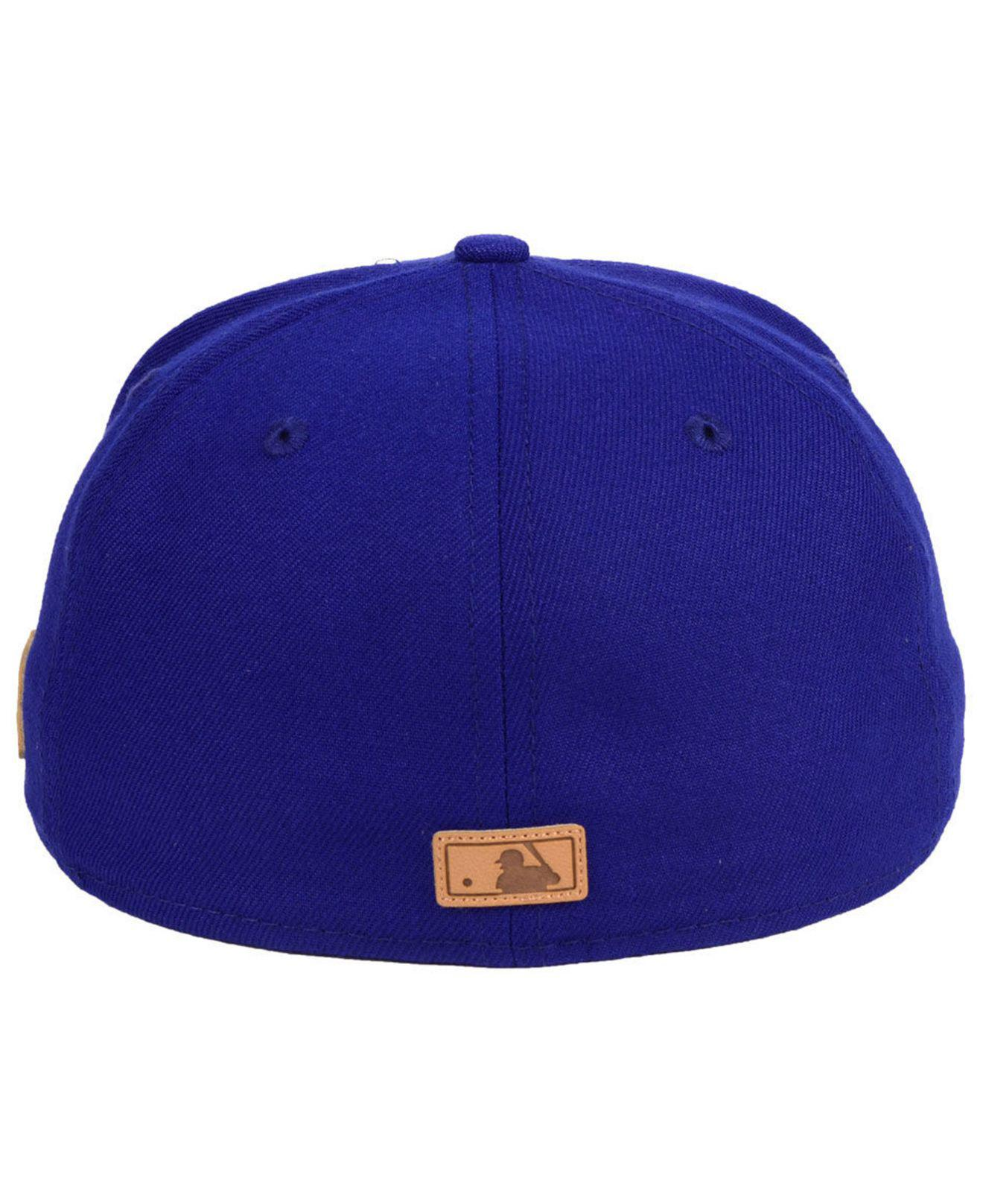 newest b32ee 8d2f9 ... low cost lyst ktz texas rangers vintage team color 59fifty fitted cap  in blue for men