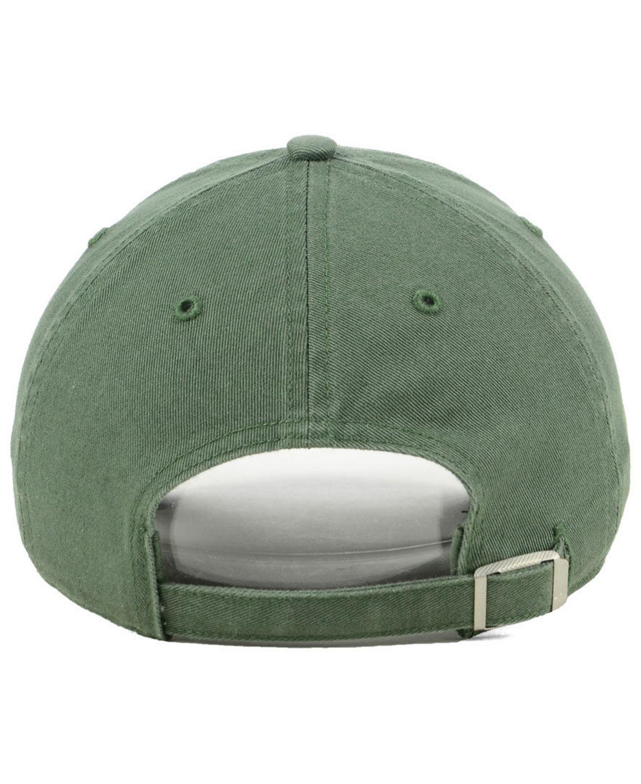 sale retailer 263a0 07164 ... sale 47 brand green san francisco 49ers moss glitta clean up cap lyst.  view fullscreen