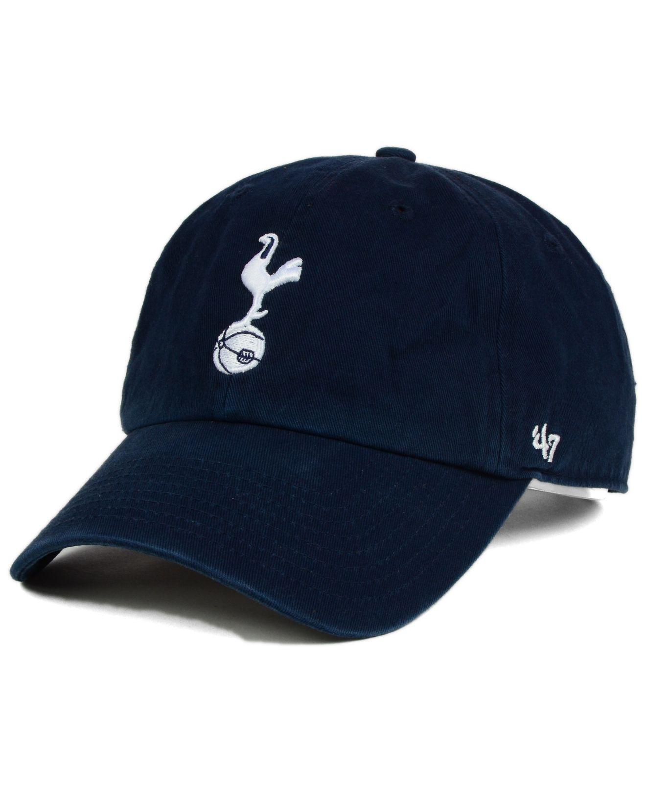 816f222ef49 Lyst - 47 Brand Tottenham Hotspur Fc Clean Up Cap in Blue for Men