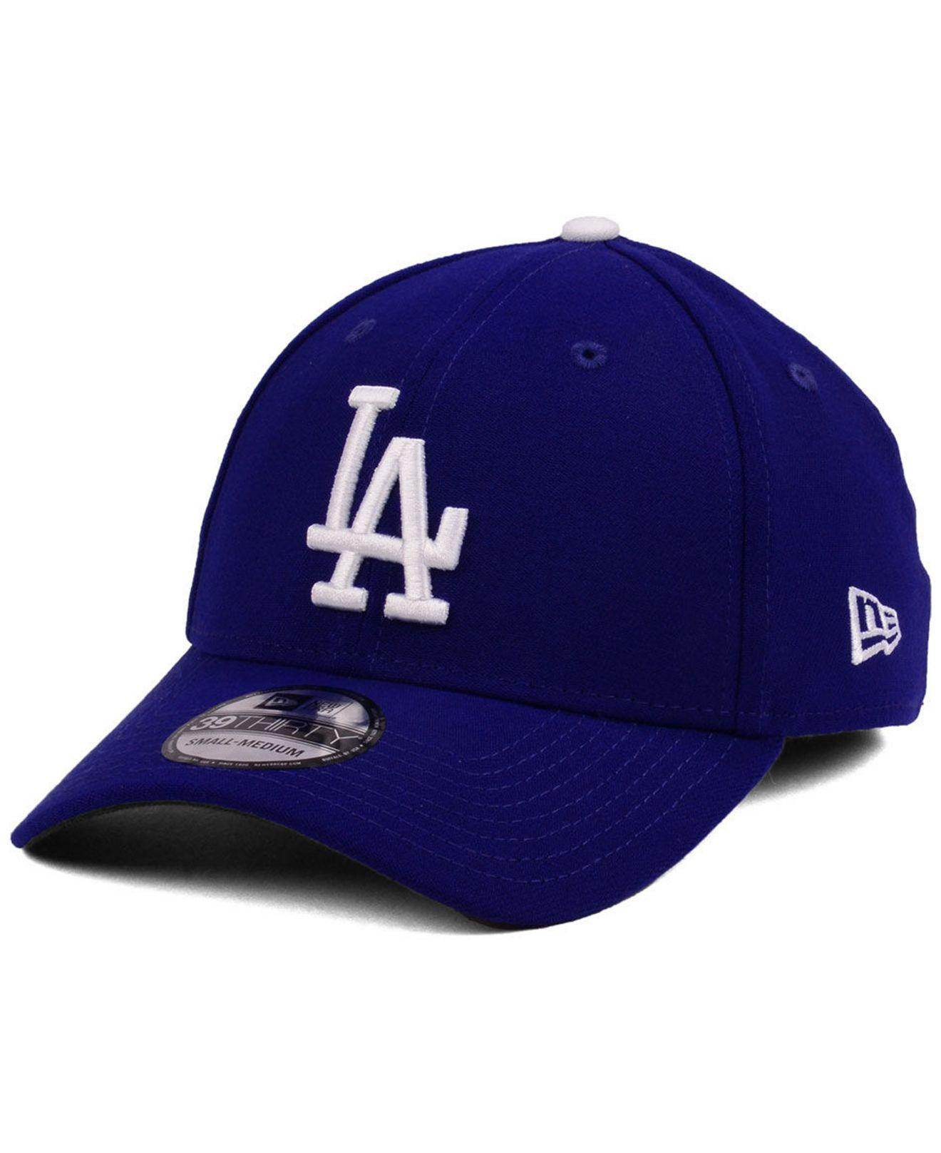huge selection of b46bb 2850e ... Los Angeles Dodgers Team Classic 39thirty Cap for Men - Lyst. View  fullscreen