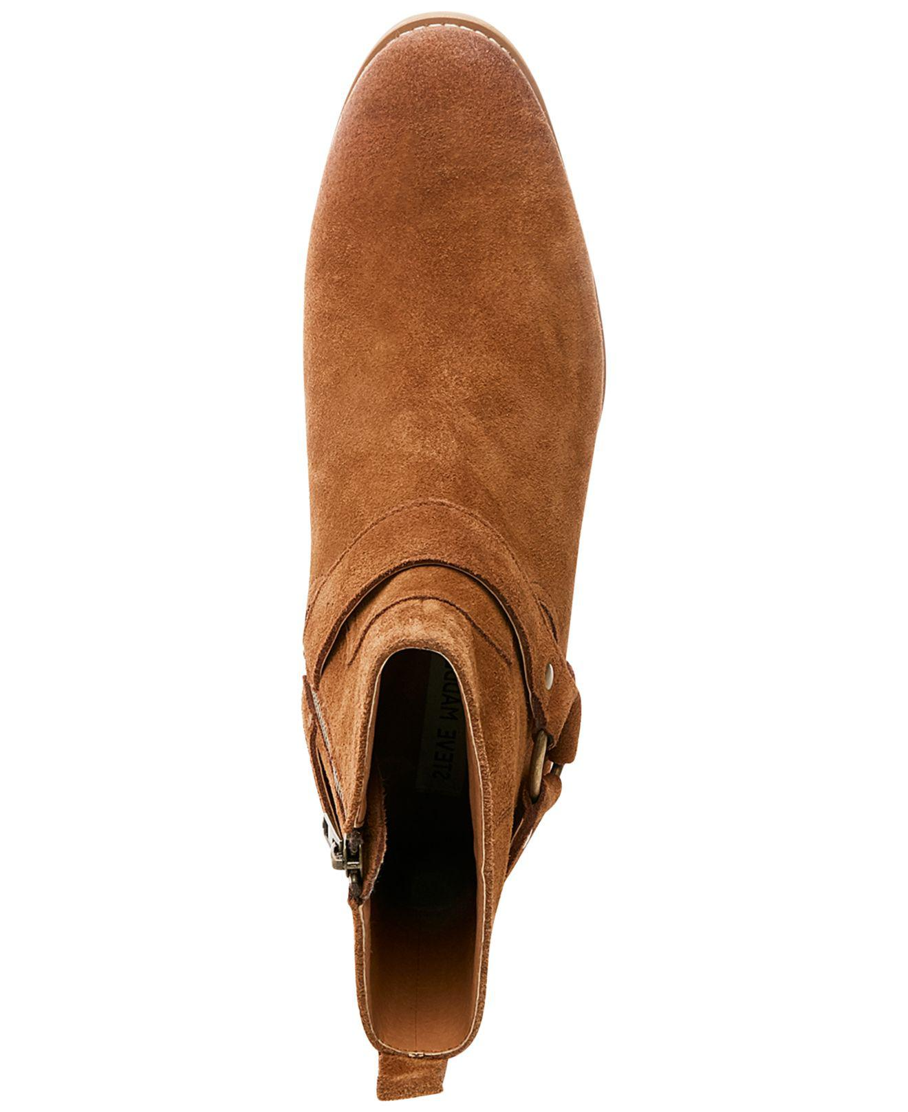 df3f12e2f80 Lyst - Steve Madden Men s Palazzo Side-zip Boots in Brown for Men