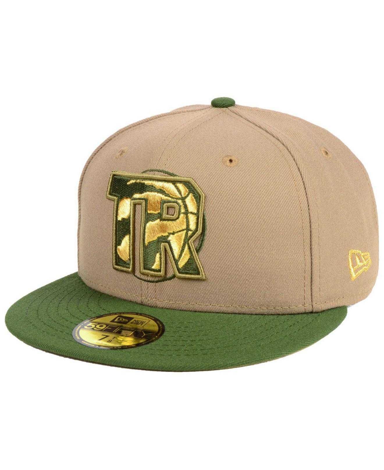 outlet store efa37 5cfc7 KTZ. Men s Green Toronto Raptors Fall 2 Tone Combo 59fifty-fitted Cap
