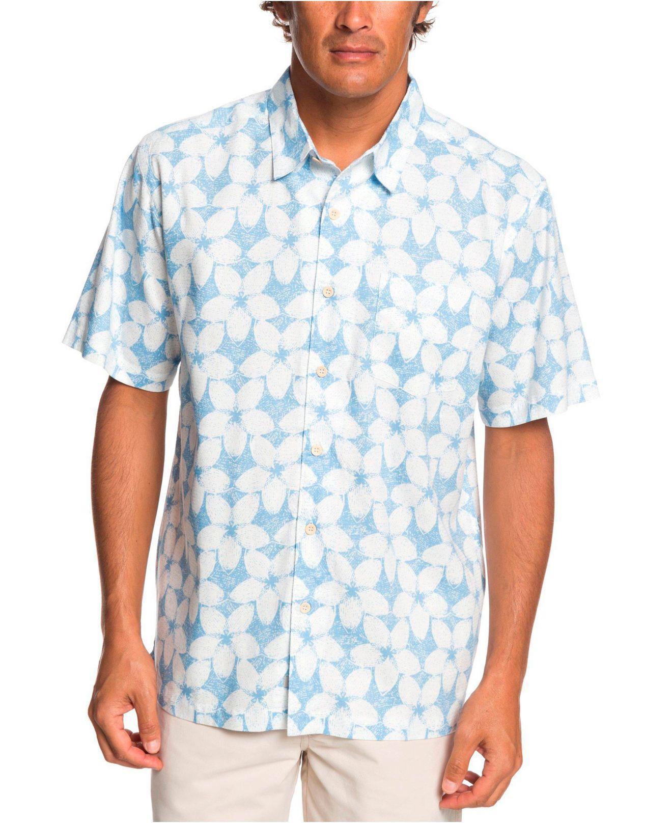 ec43fd6fb Lyst - Quiksilver Ohana Friday Shirt in Blue for Men
