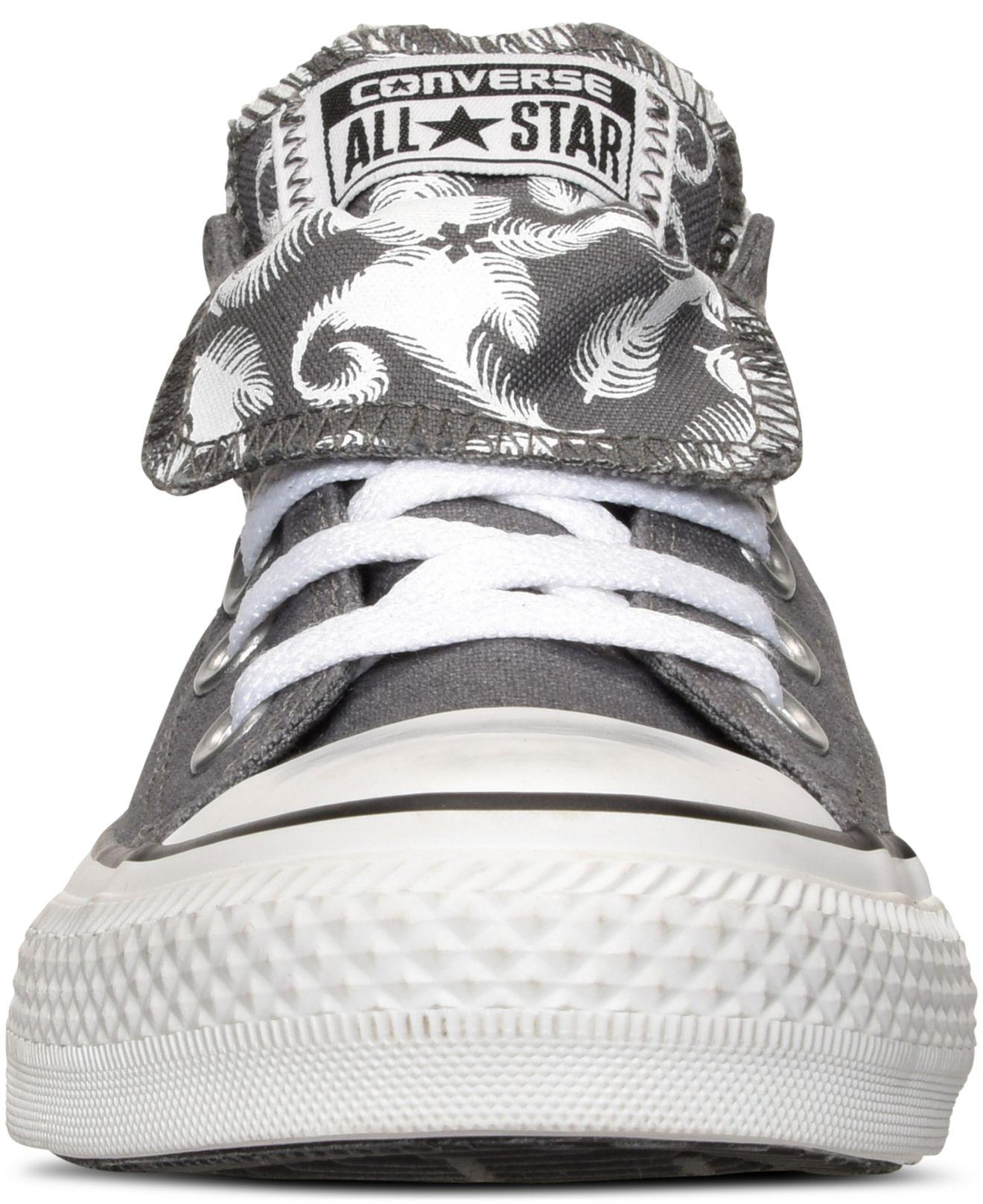 Converse Womens Chuck Taylor All Star Photo Real Feathers Black White