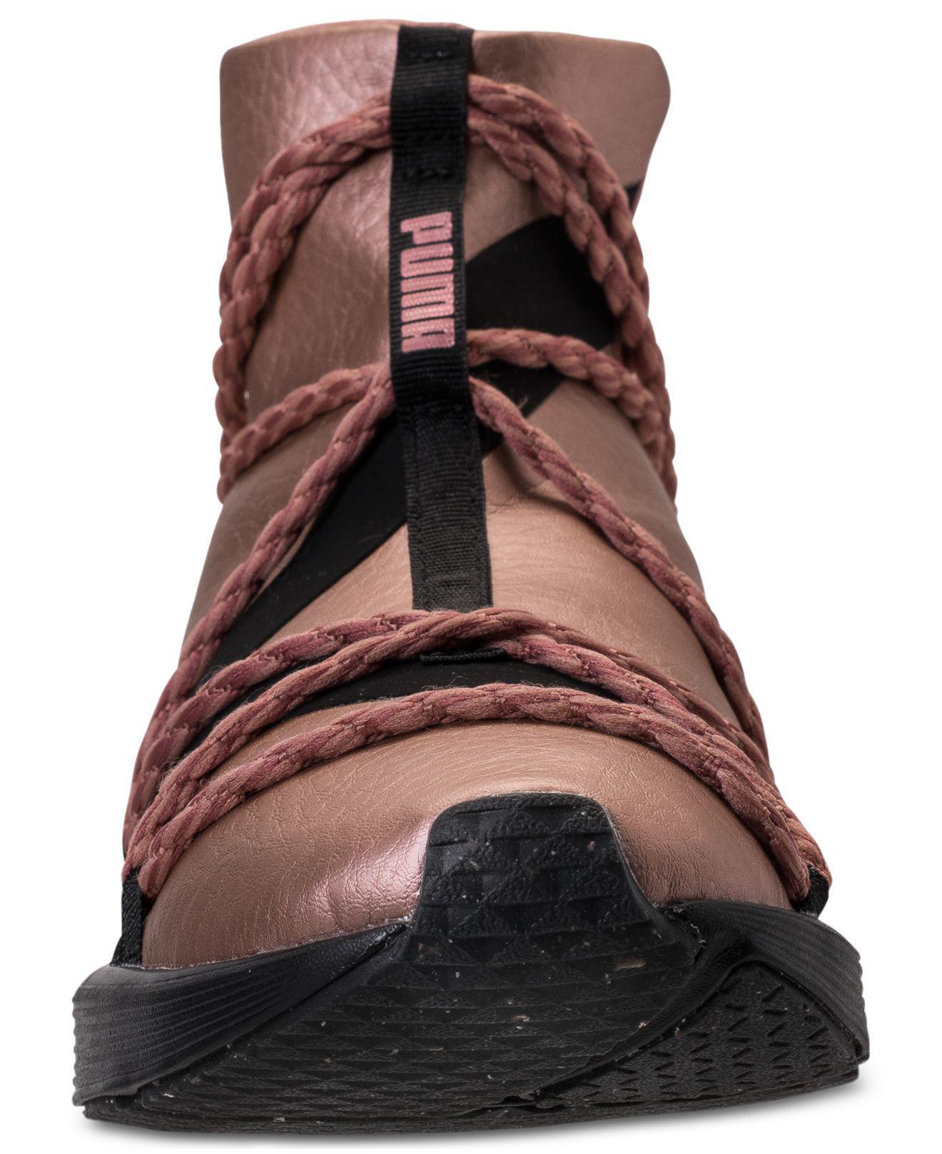 hot sale online 09256 0da71 ... Lyst - Puma Women s Fierce Rope Copper Velvet Rope Training Sneakers .