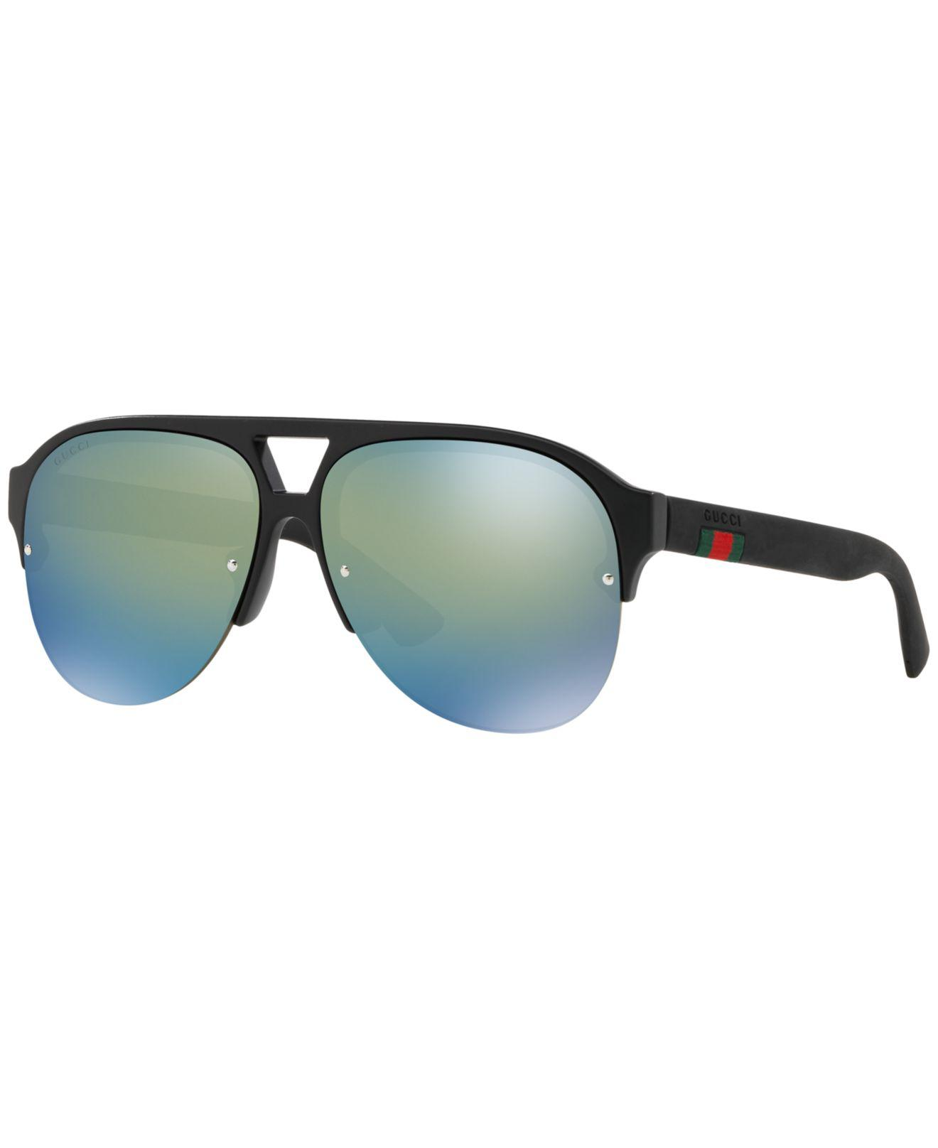 defe50d143 Gucci 0170 s Aviator Sunglasses for Men - Lyst