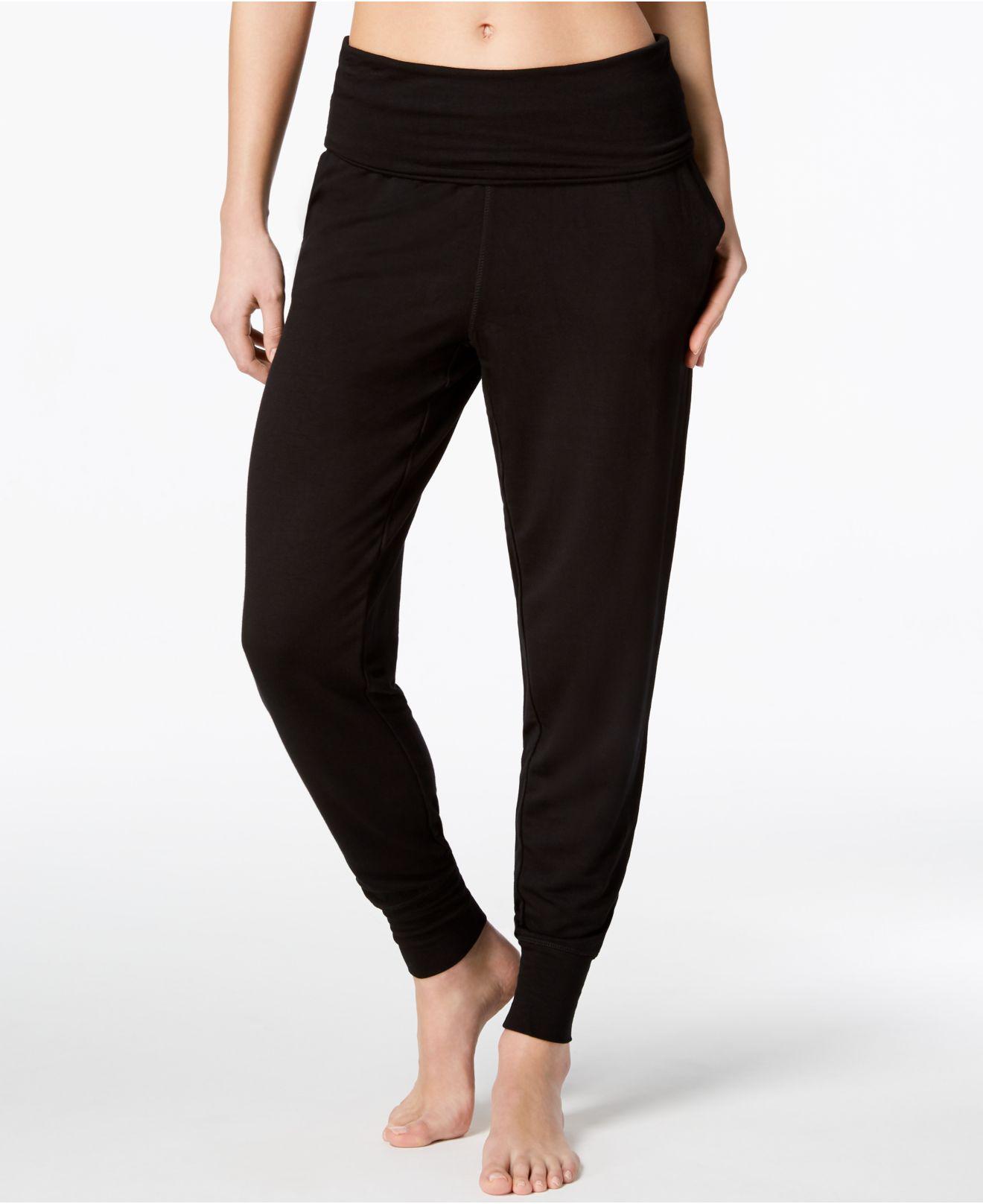 80c6fb76ac19b Gaiam Piper Harem Pants in Black - Lyst