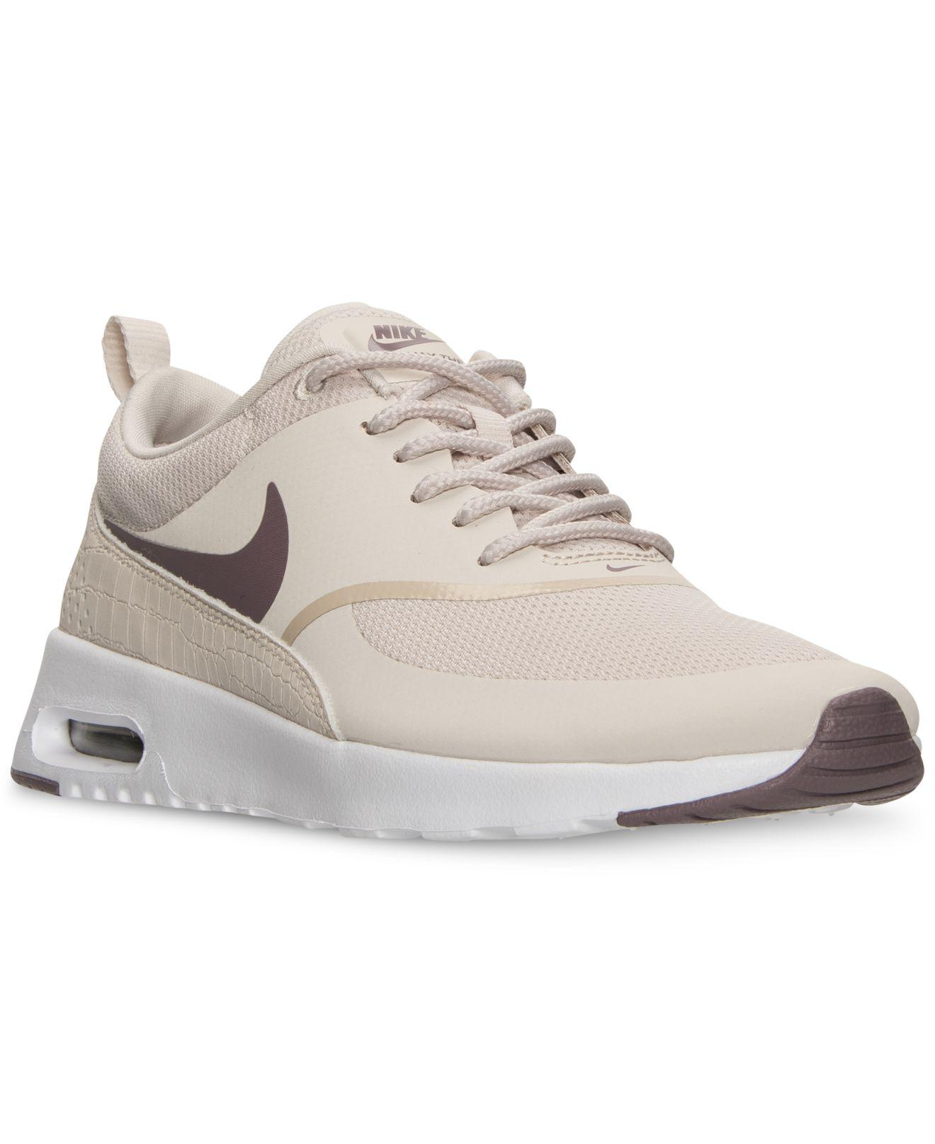 sports shoes 91c6b c91d2 Lyst - Nike Women s Air Max Thea Running Sneakers From Finish Line ...