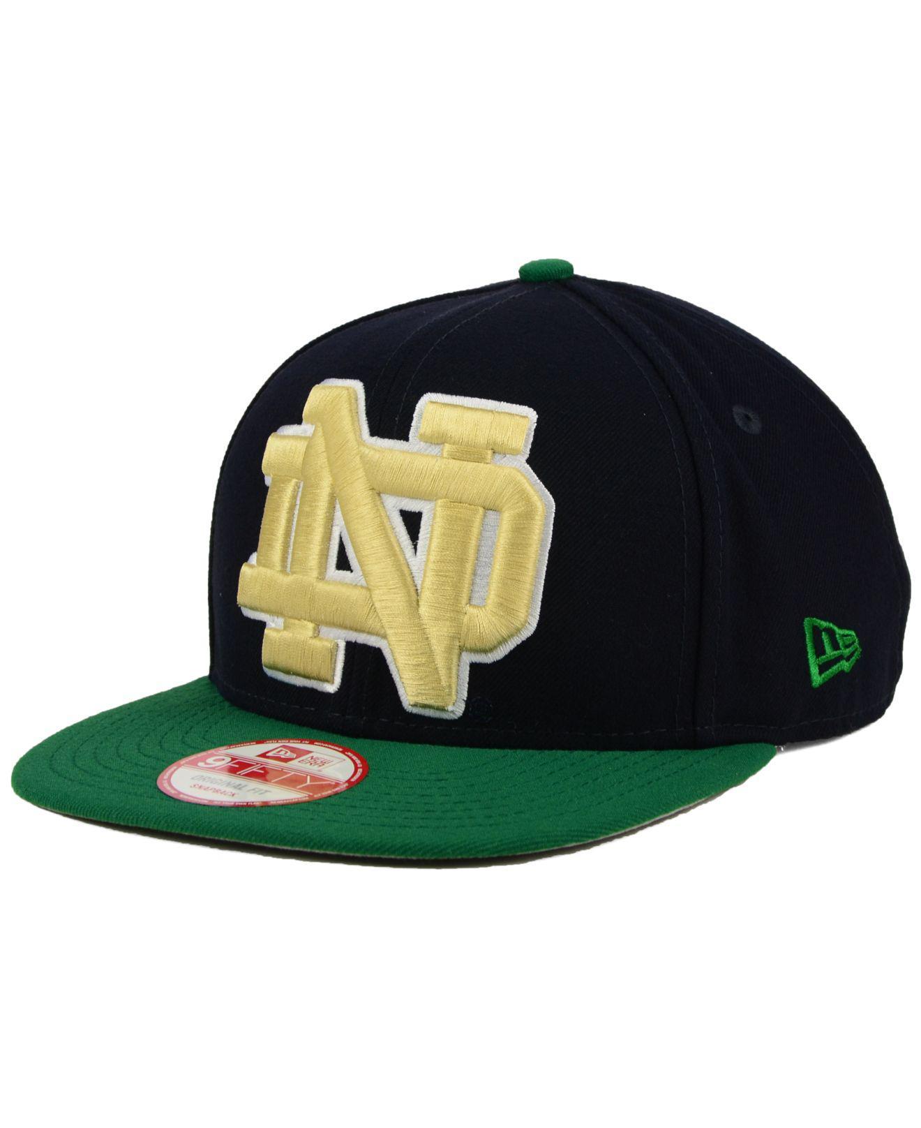 a5f2ade2d97 Lyst - Ktz Notre Dame Fighting Irish Logo Grand Redux 9fifty ...