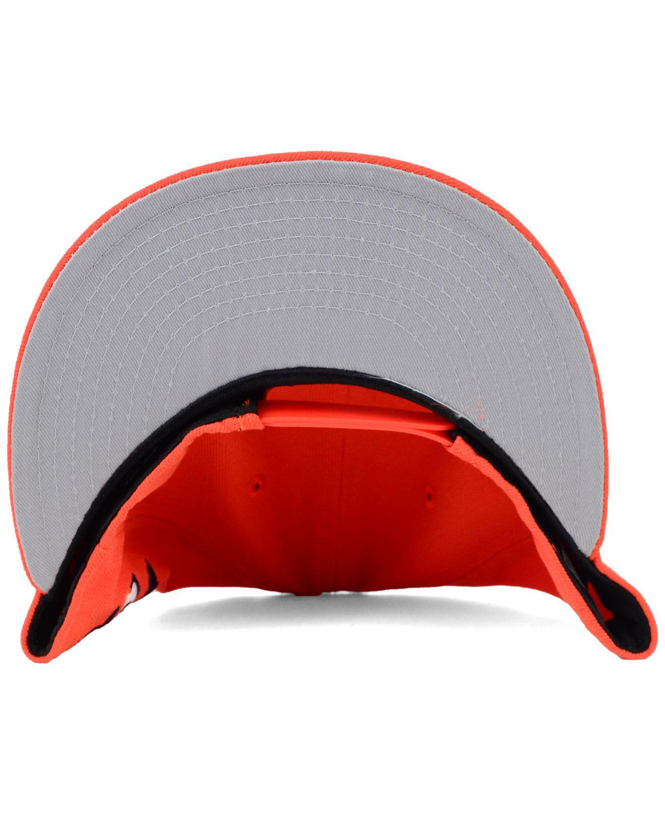 best loved f6111 5826f KTZ - Orange Houston Astros 2 Tone Link 9fifty Snapback Cap for Men - Lyst.  View fullscreen