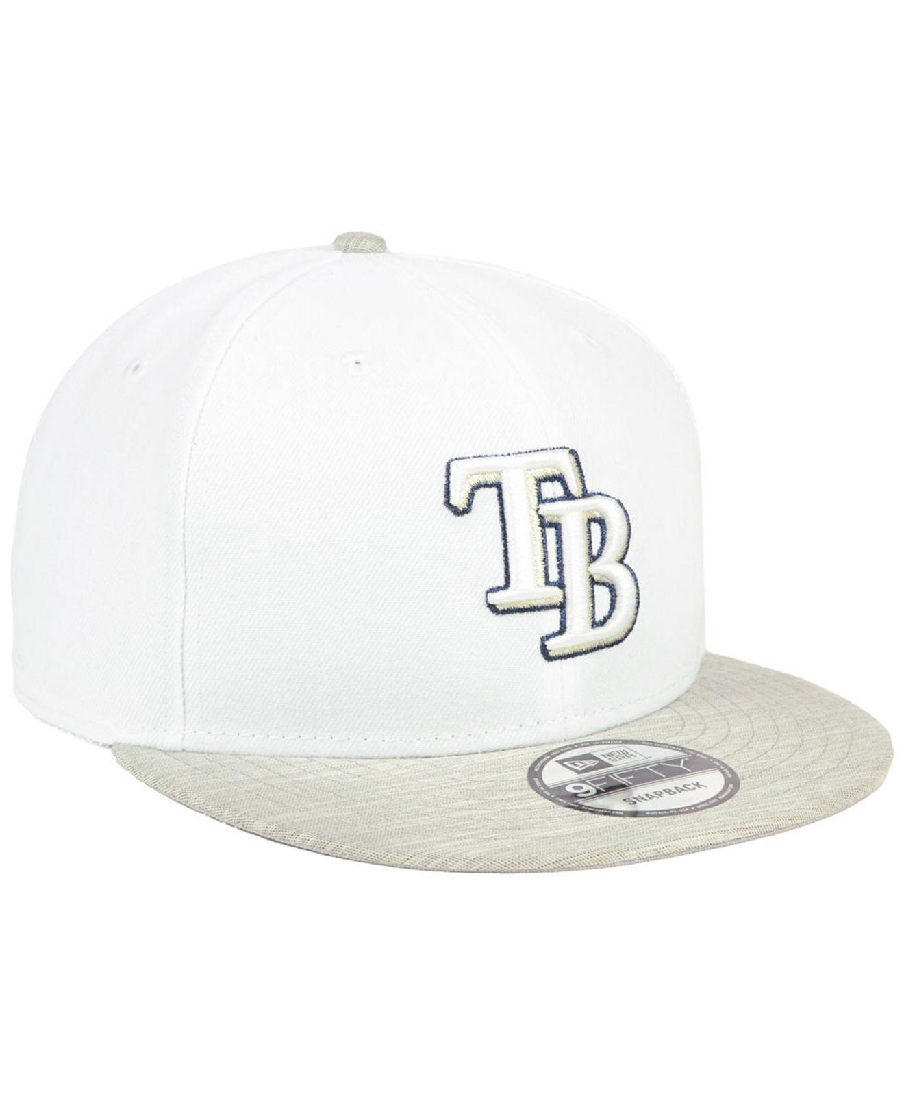 buy online 550c5 1e9d0 ... aliexpress tampa bay rays bright heather 9fifty snapback cap for men  lyst. view fullscreen d7f01
