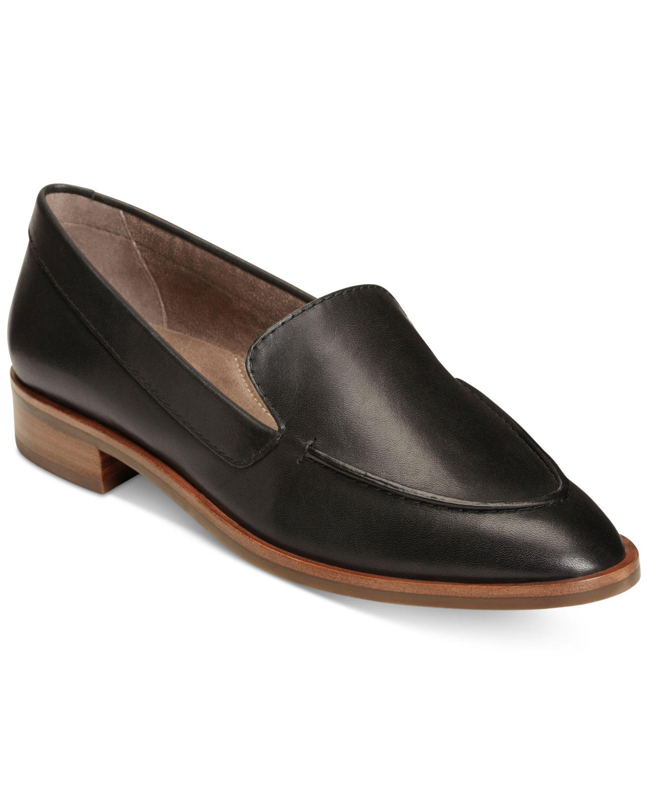 81240e7f5d8b Lyst - Aerosoles East Side Loafers in Black - Save 22%