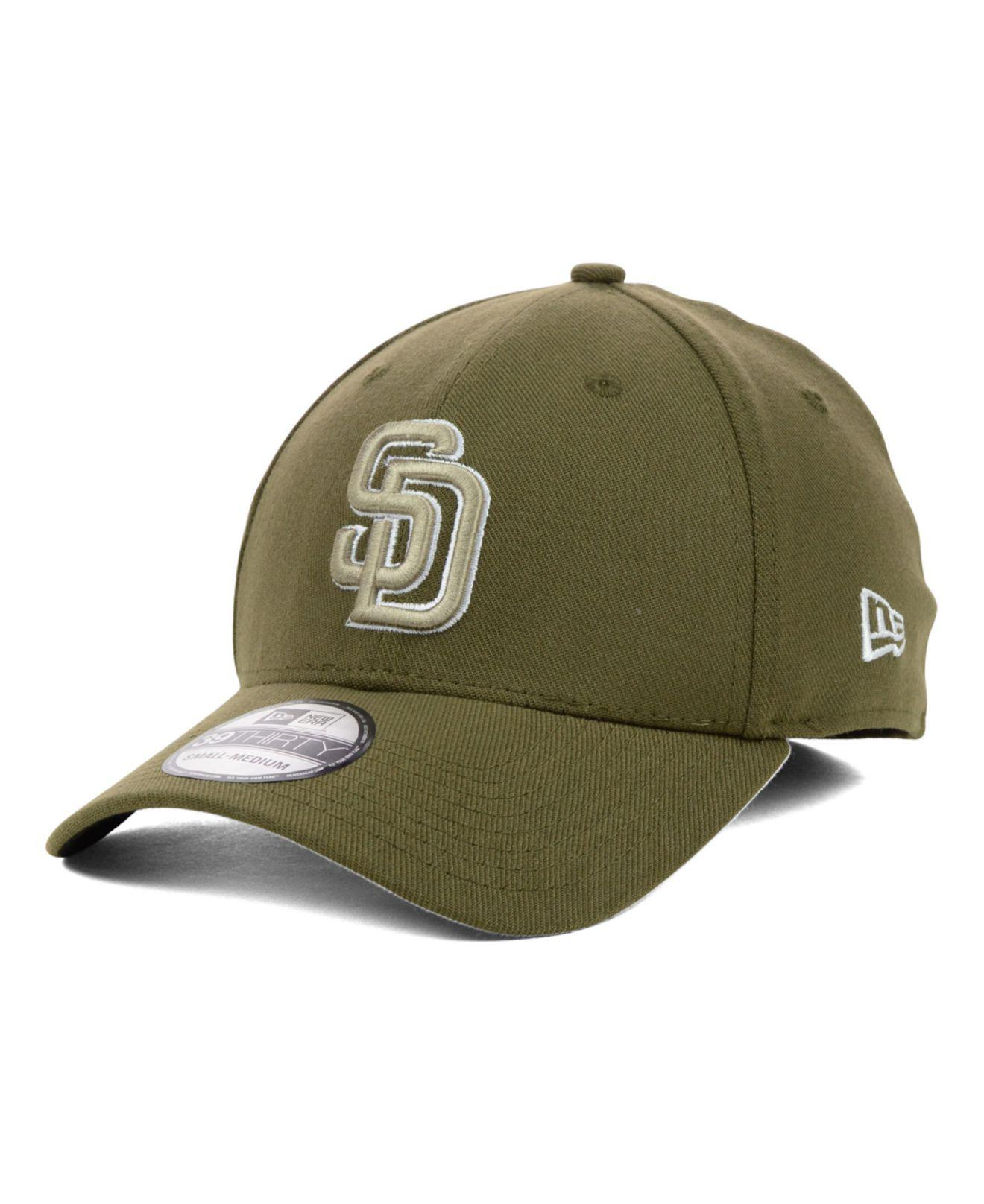 new product 470f7 c2a44 ... where to buy ktz. mens brown san diego padres mlb team classic 39thirty  cap f1439