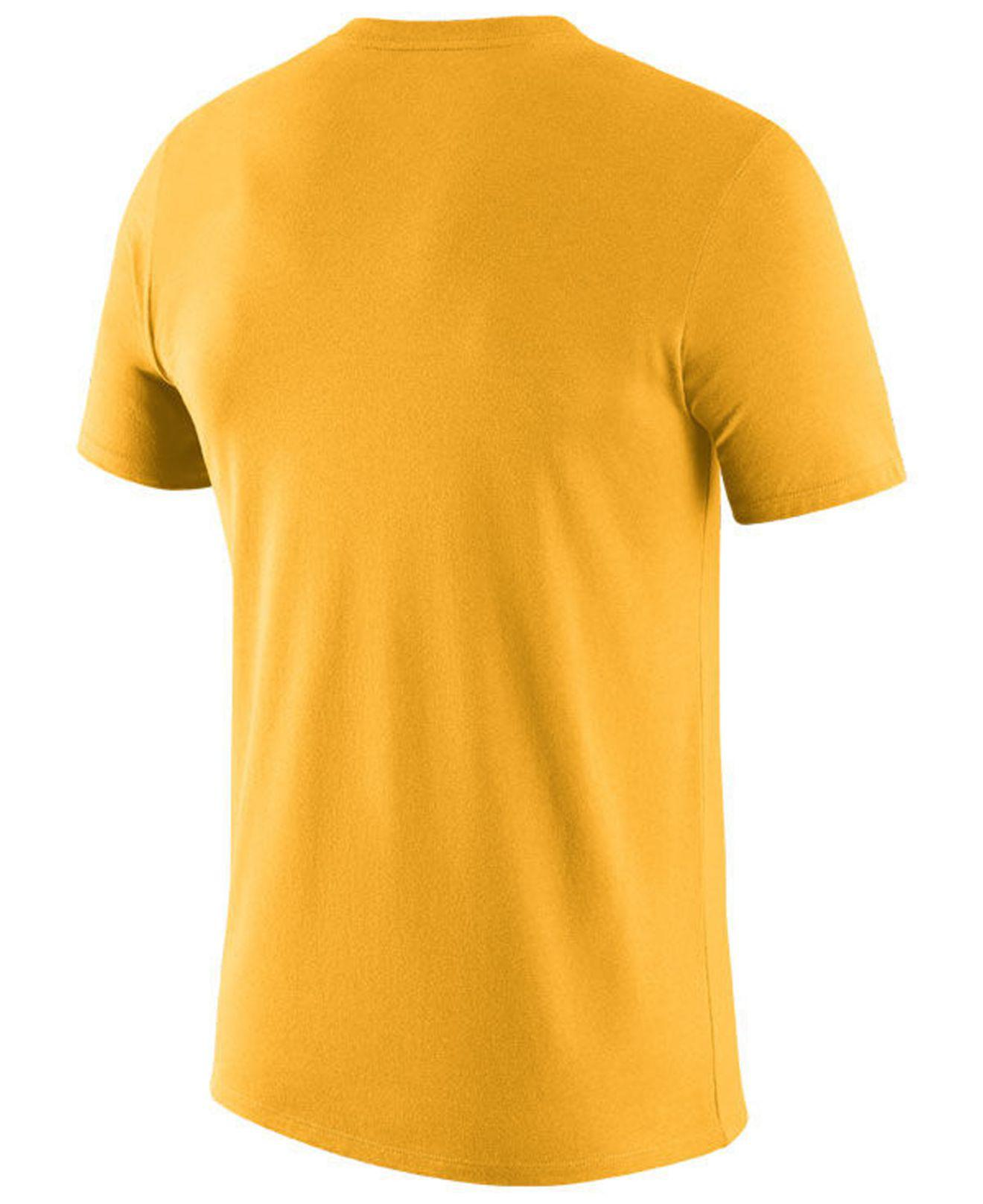 6c5aa7a5732 Lyst - Nike Pittsburgh Steelers Dri-fit Cotton Essential Logo T-shirt in  Metallic for Men