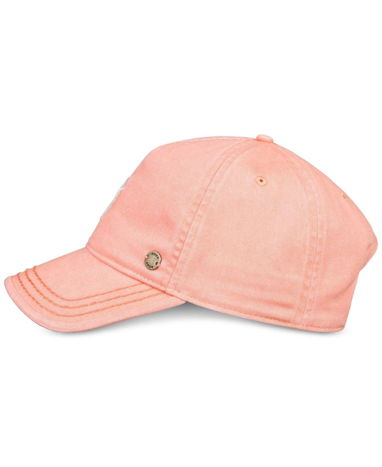 e5b9a7b1bf6 Lyst - Roxy Juniors  Next Level Cotton Pineapple Cap in Pink