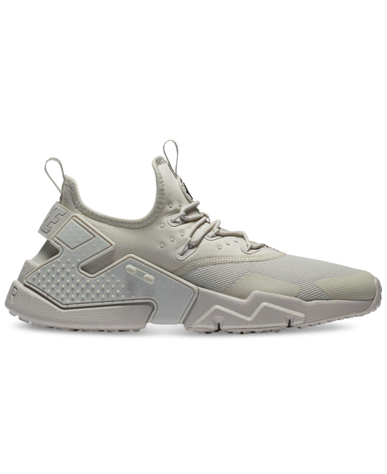 Lyst Nike Air Huarache Run Drift Casual Sneakers From Finish Line