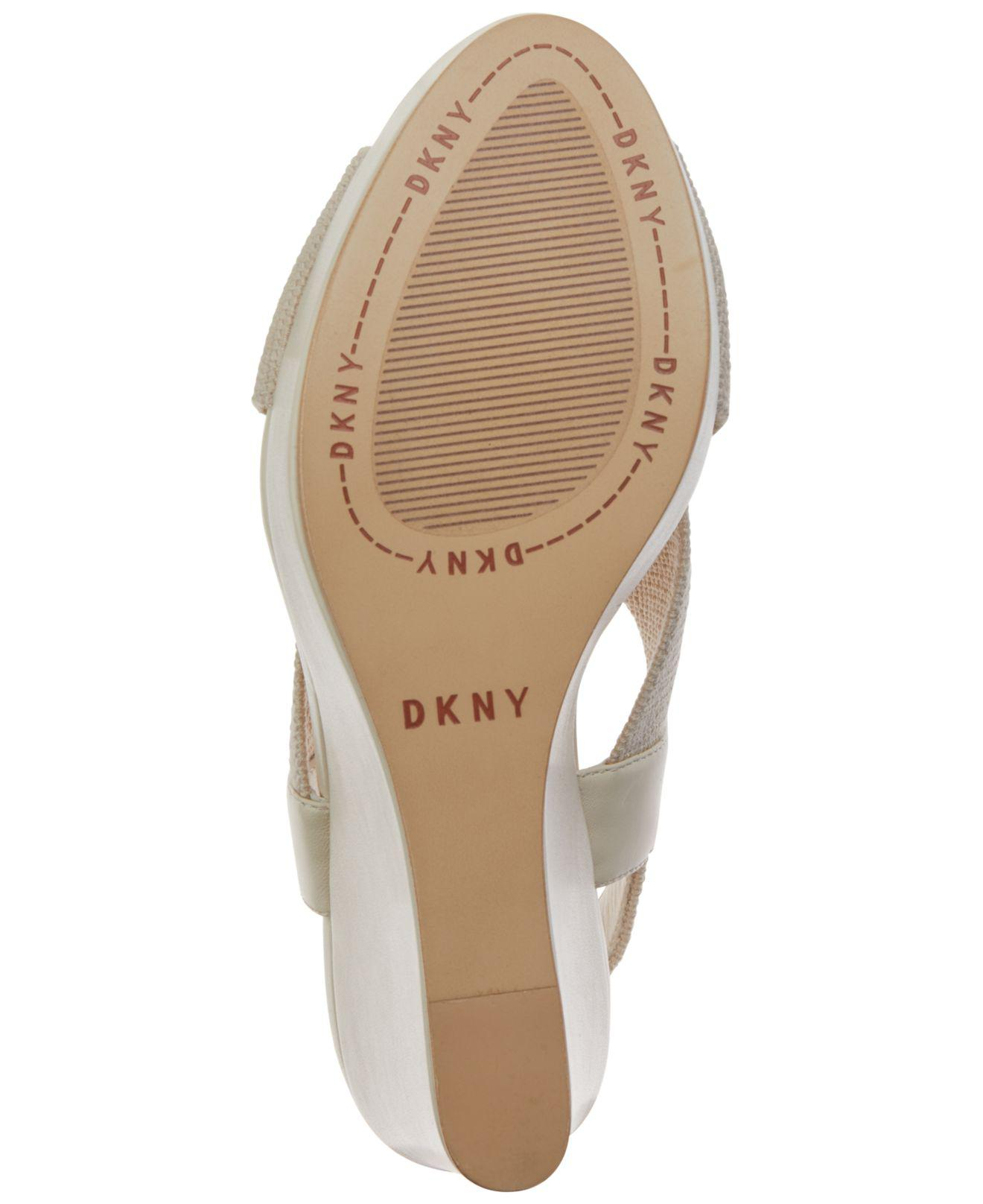 685aae2603e DKNY - Multicolor Jamara Wedge Sandals