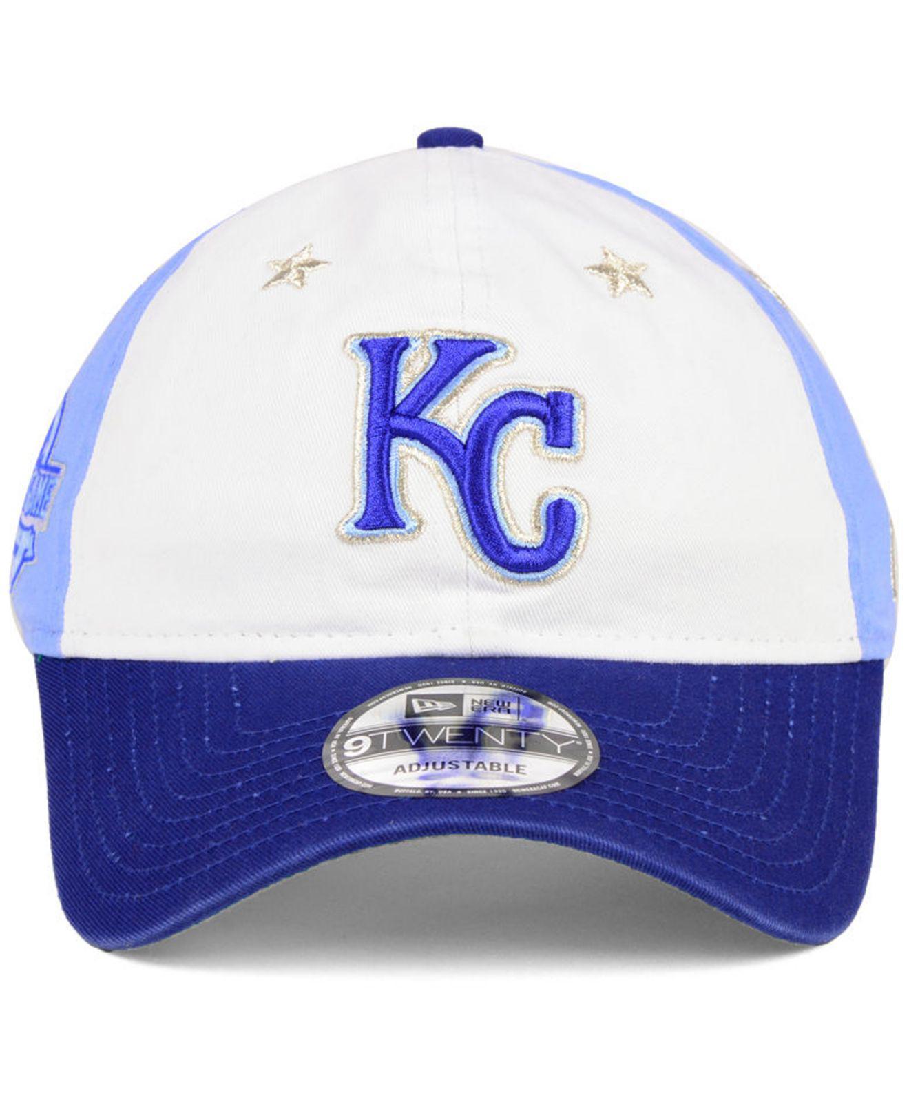 75c3a7beb3e coupon code lyst ktz kansas city royals all star game 9twenty strapback cap  2018 in blue
