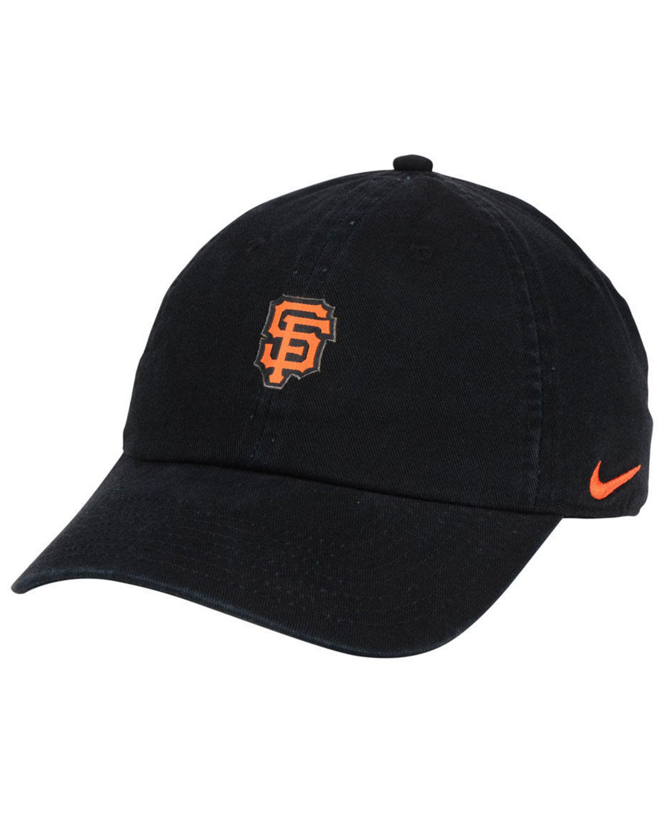 61d1088244f Lyst - Nike San Francisco Giants Micro Cap in Black for Men