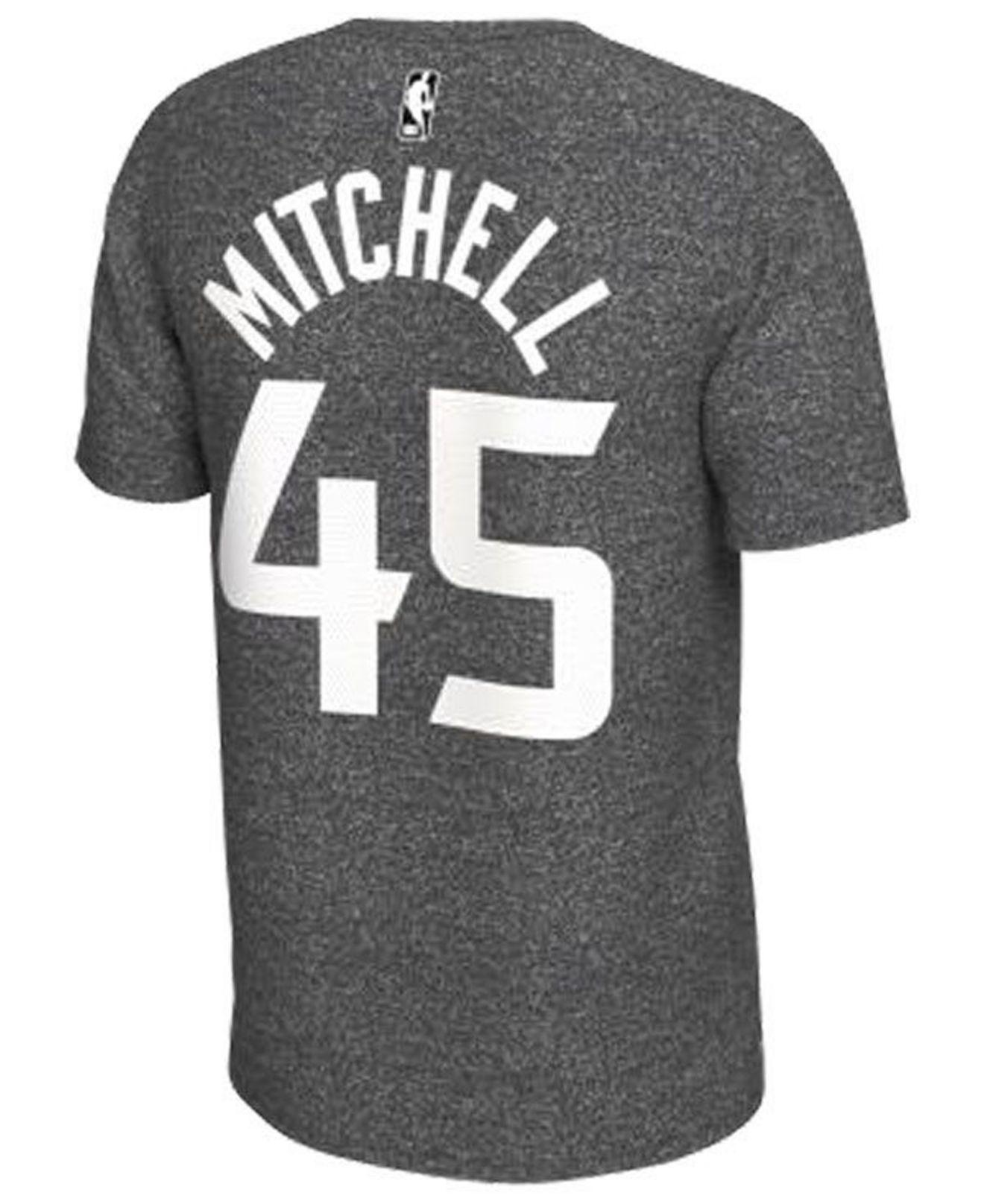 41c463b7782 Nike Donovan Mitchell Utah Jazz Marled Player T-shirt in Gray for Men - Lyst