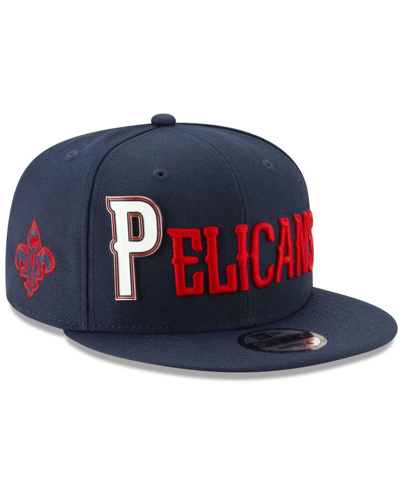 Lyst - KTZ New Orleans Pelicans Enamel Script 9fifty Snapback Cap in ... 272597e987cc