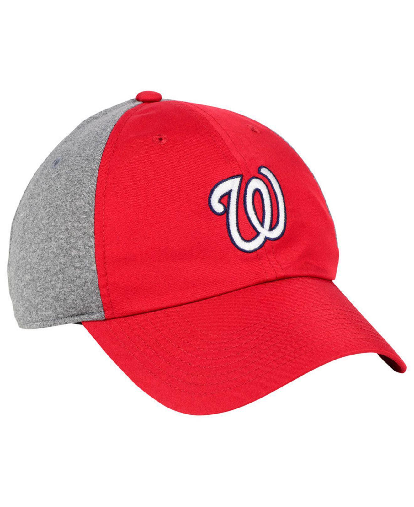 a092224e9e2a9 ... switzerland nike red washington nationals new day legend cap for men  lyst. view fullscreen 7e5ad