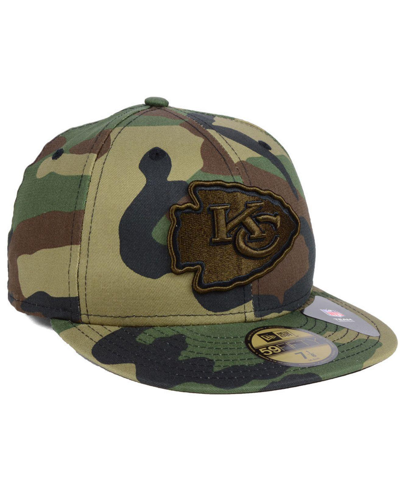 online store 0903a a9192 ... new zealand kansas city chiefs woodland prism pack 59fifty fitted cap  for men . view fullscreen