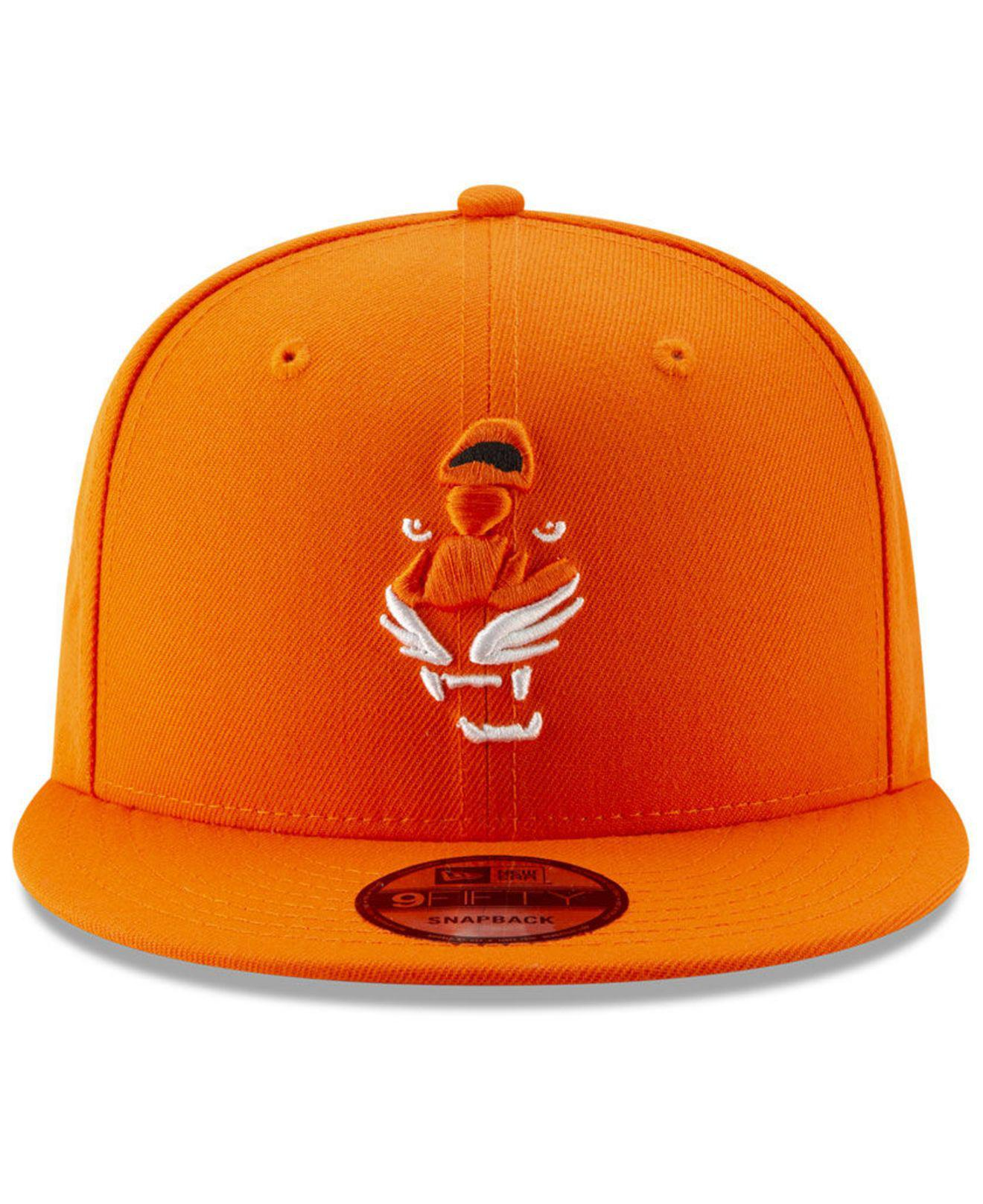 dddb38b2850 Lyst - Ktz Cincinnati Bengals Logo Elements Collection 9fifty Snapback Cap  in Orange for Men