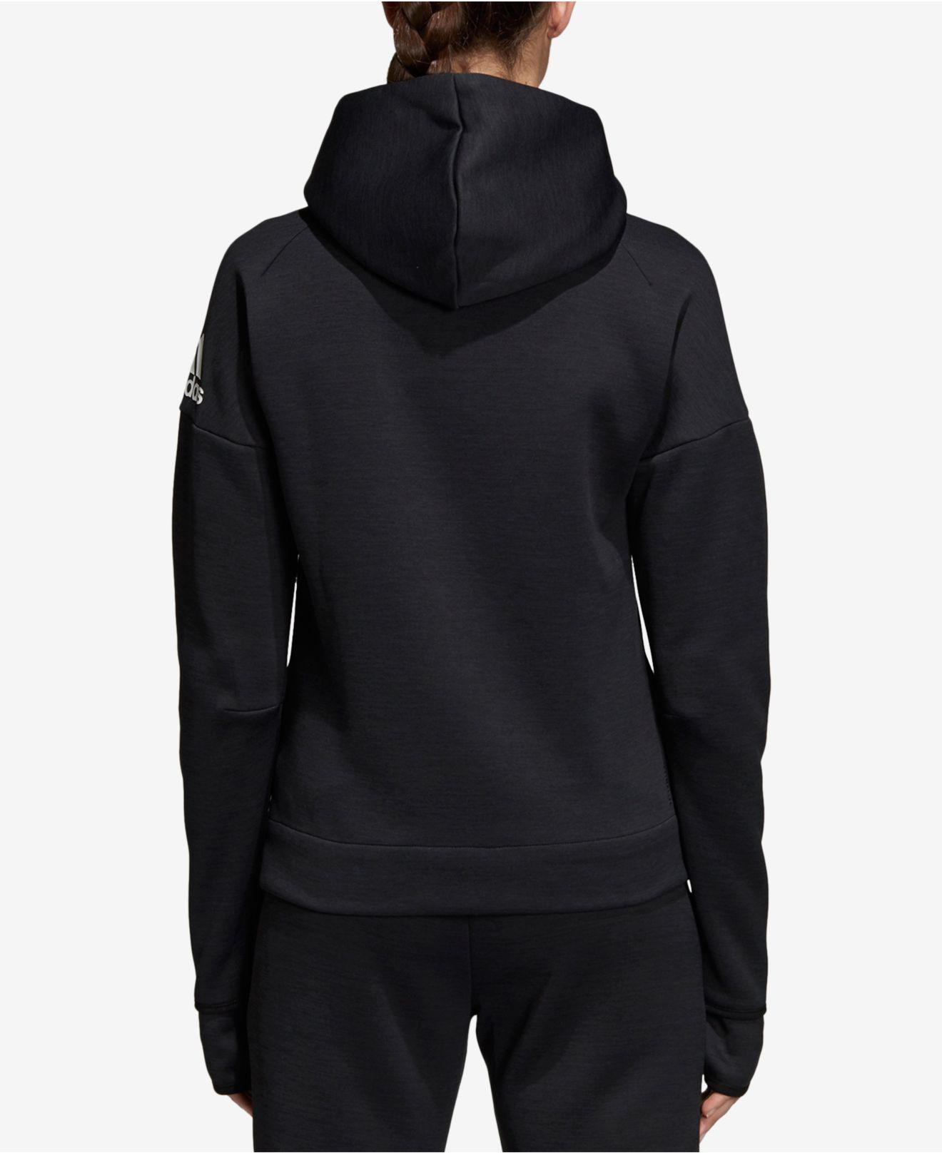 0302961a2fca Lyst - adidas Z.n.e. Fast-release Zip Hoodie in Black - Save 41%