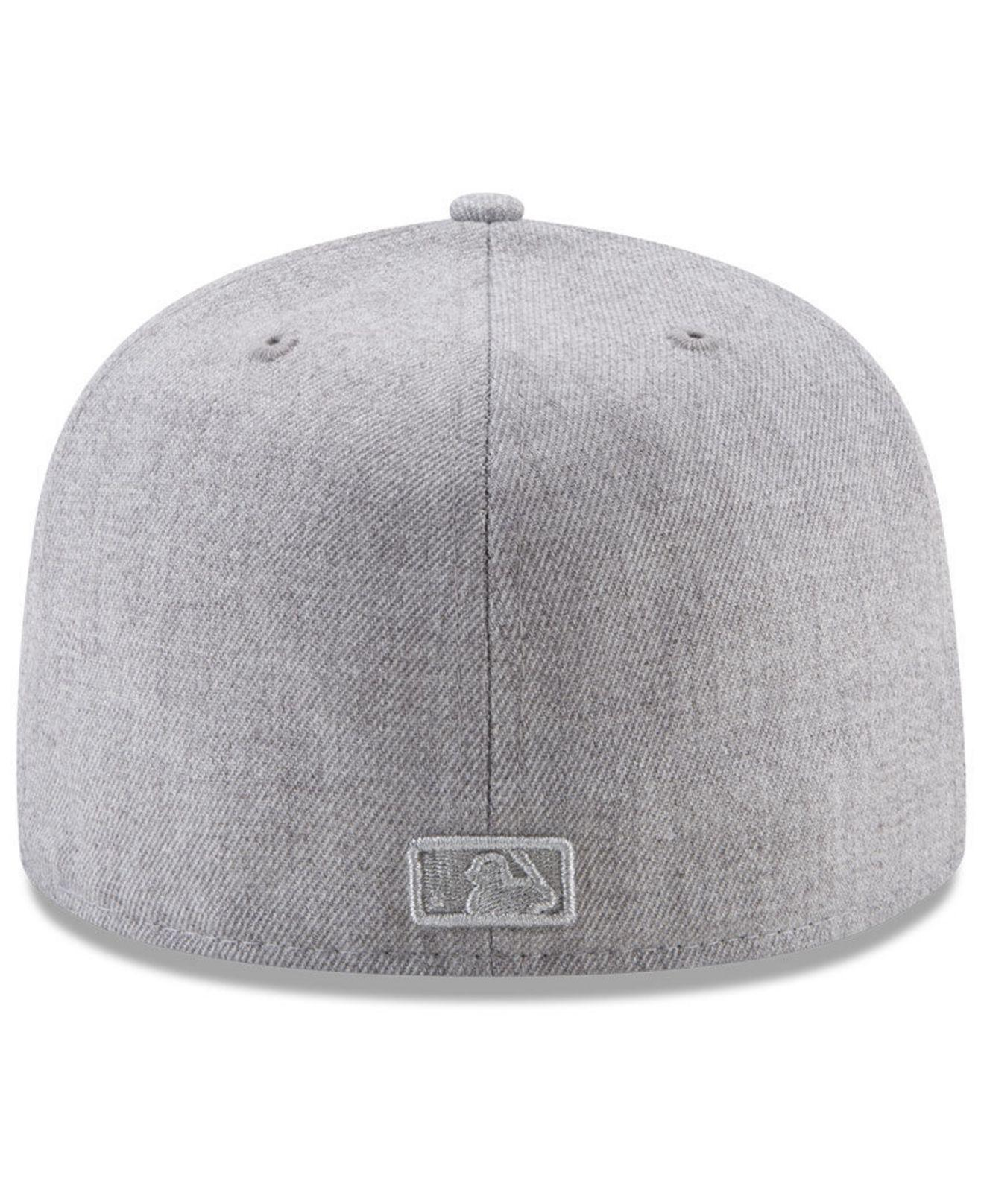 89727f9e6ea get lyst ktz chicago white sox pure silver 59fifty fitted cap in gray e962b  91a7c