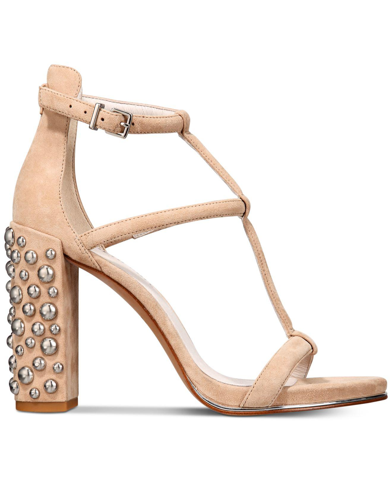 70da534e9f9 Lyst - Kenneth Cole Deandra Studded Dress Sandals