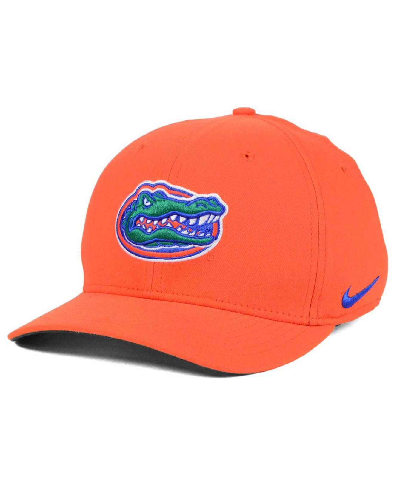 brand new 67712 ee590 Nike. Men s Orange Florida Gators Classic Swoosh Cap