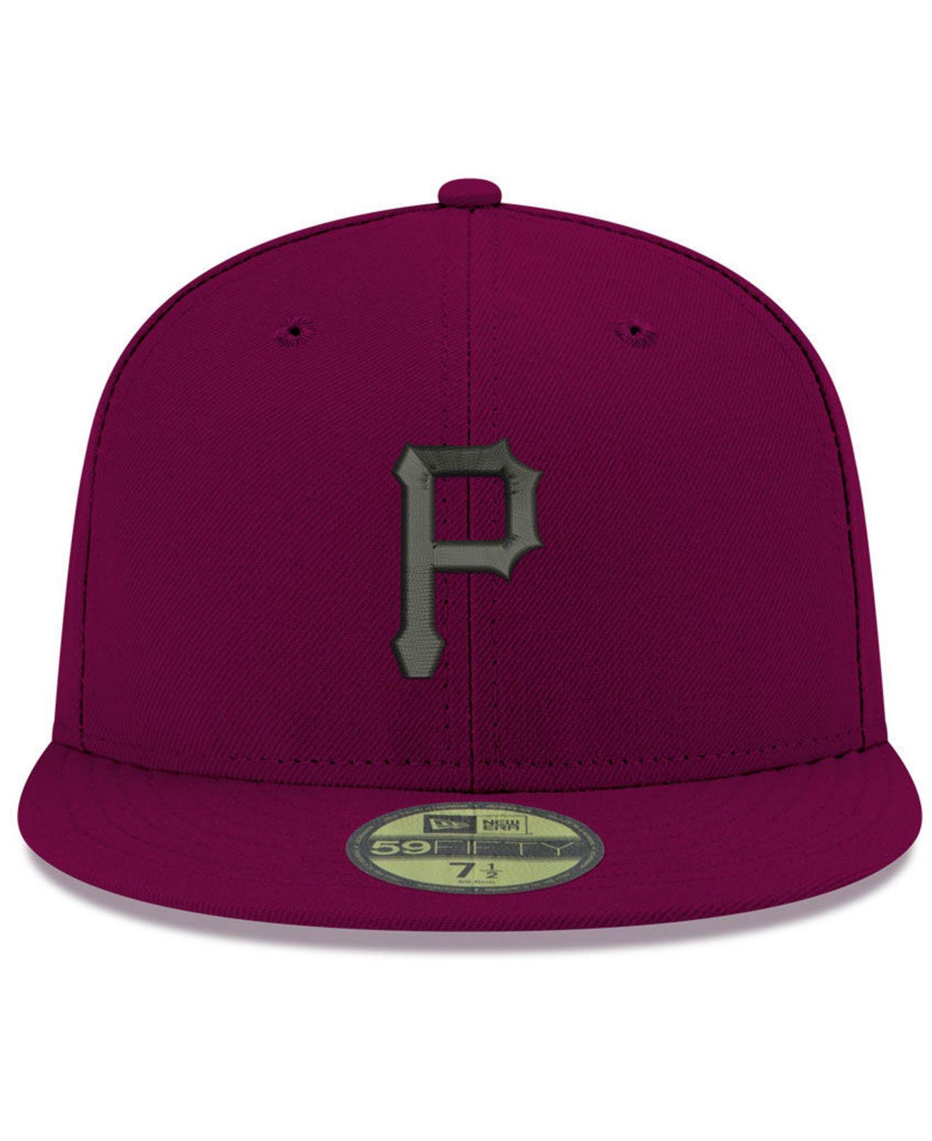 timeless design c128d a027c Lyst - KTZ Pittsburgh Pirates Reverse C-dub 59fifty Fitted Cap in Purple  for Men