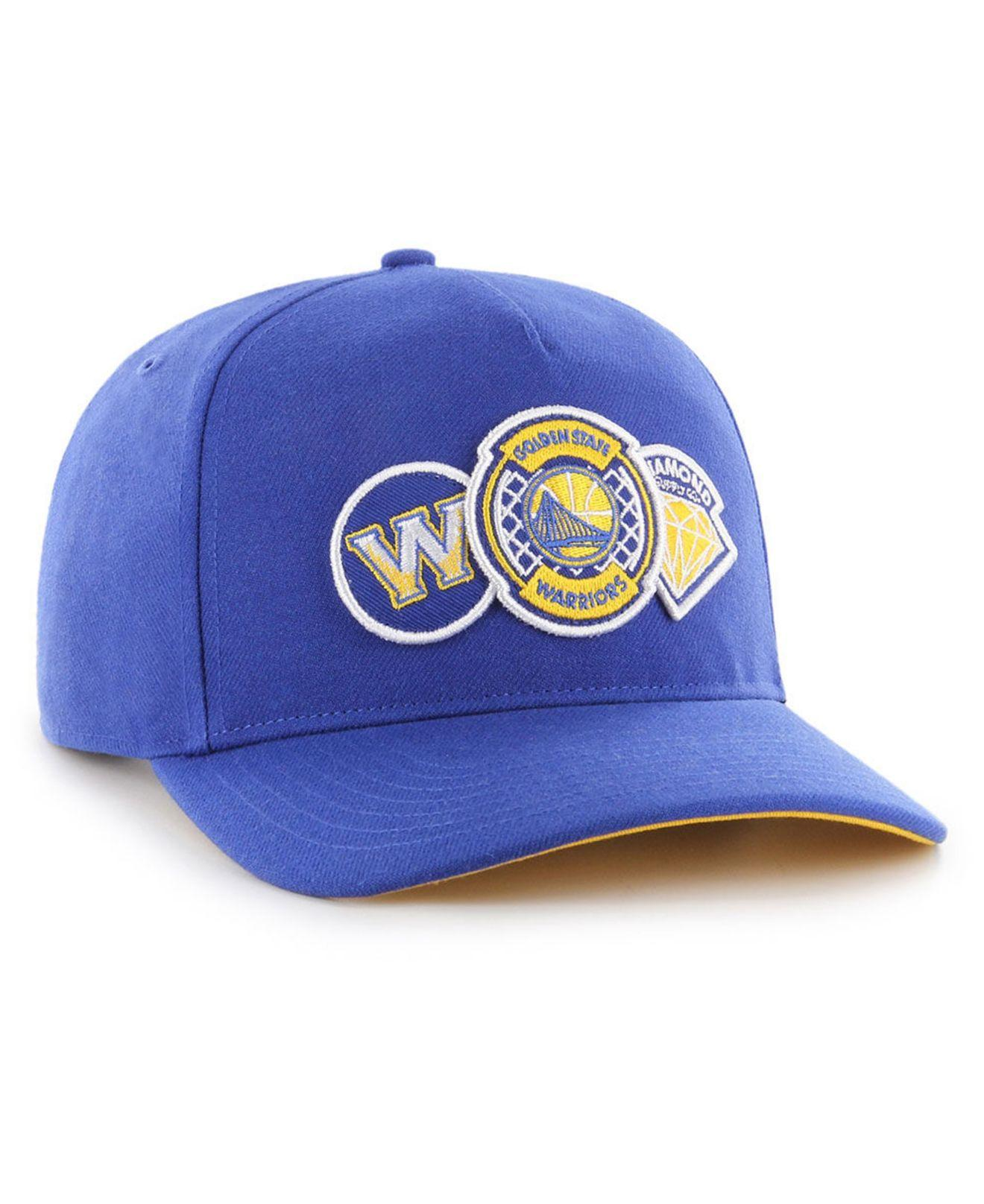 new style 5c155 9c2d8 Lyst - 47 Brand Golden State Warriors Diamond Patch Captain Dt Cap in Blue  for Men