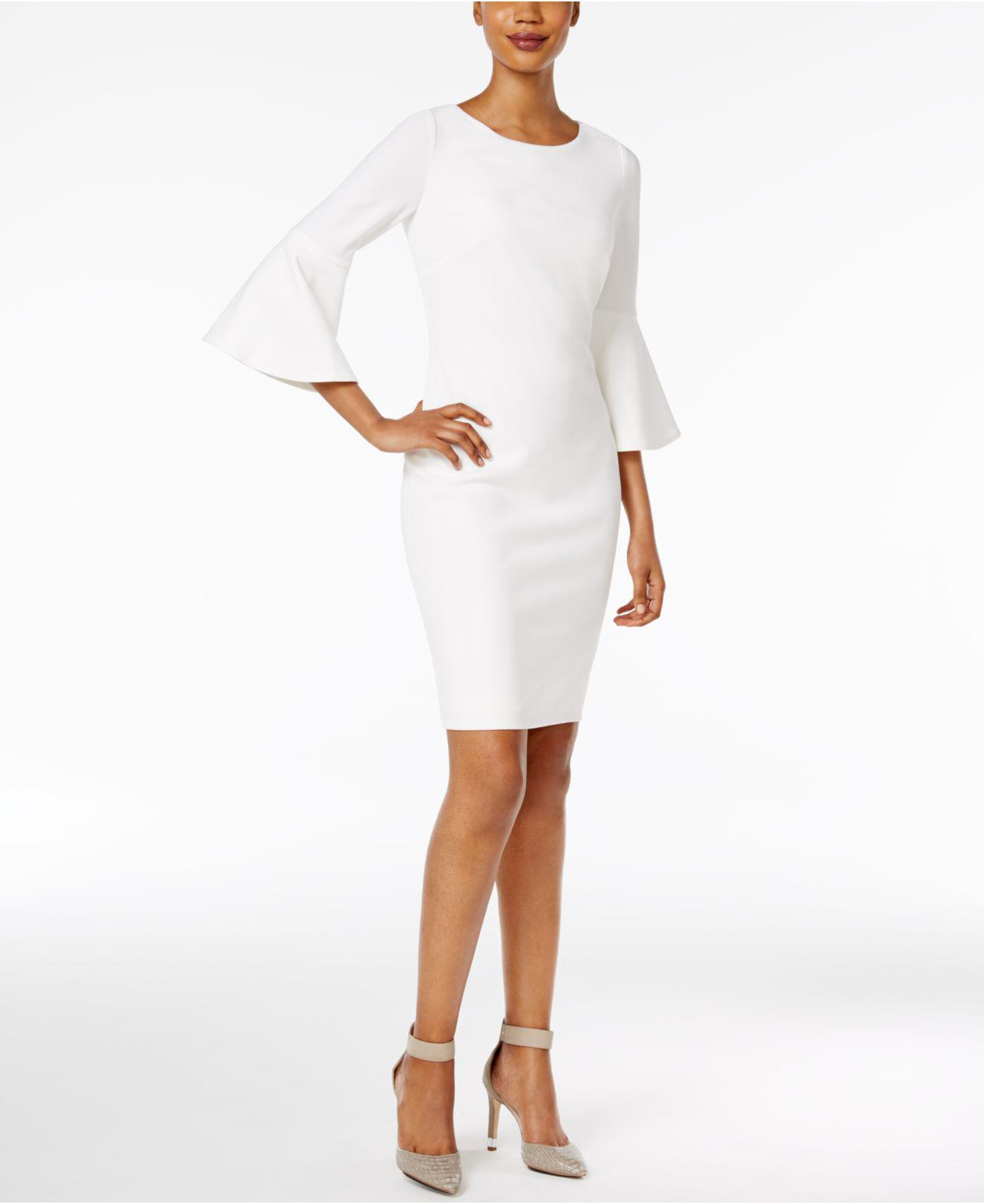 For Sale Cheap Price From China Calvin Klein 205W39nyc bell-sleeved dress Discount Reliable Buy Cheap Store Outlet Store Locations Discount Fashionable NhKQ8ZZ20n