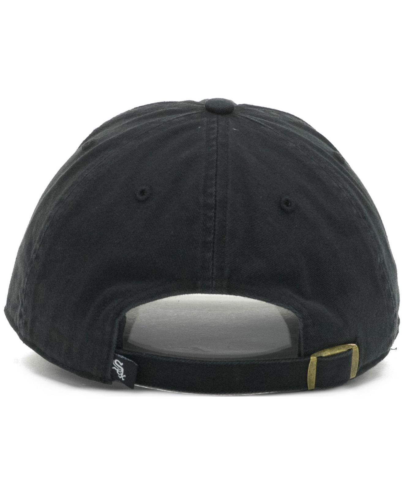 premium selection 857ba 47174 ... ireland lyst 47 brand chicago white sox clean up hat in black for men  d3158 64821