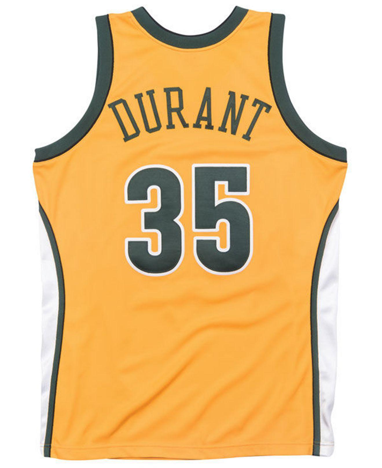 ea7445d32c3 ... netherlands lyst mitchell ness kevin durant seattle supersonics  authentic jersey in metallic for men 246d7 e6d15
