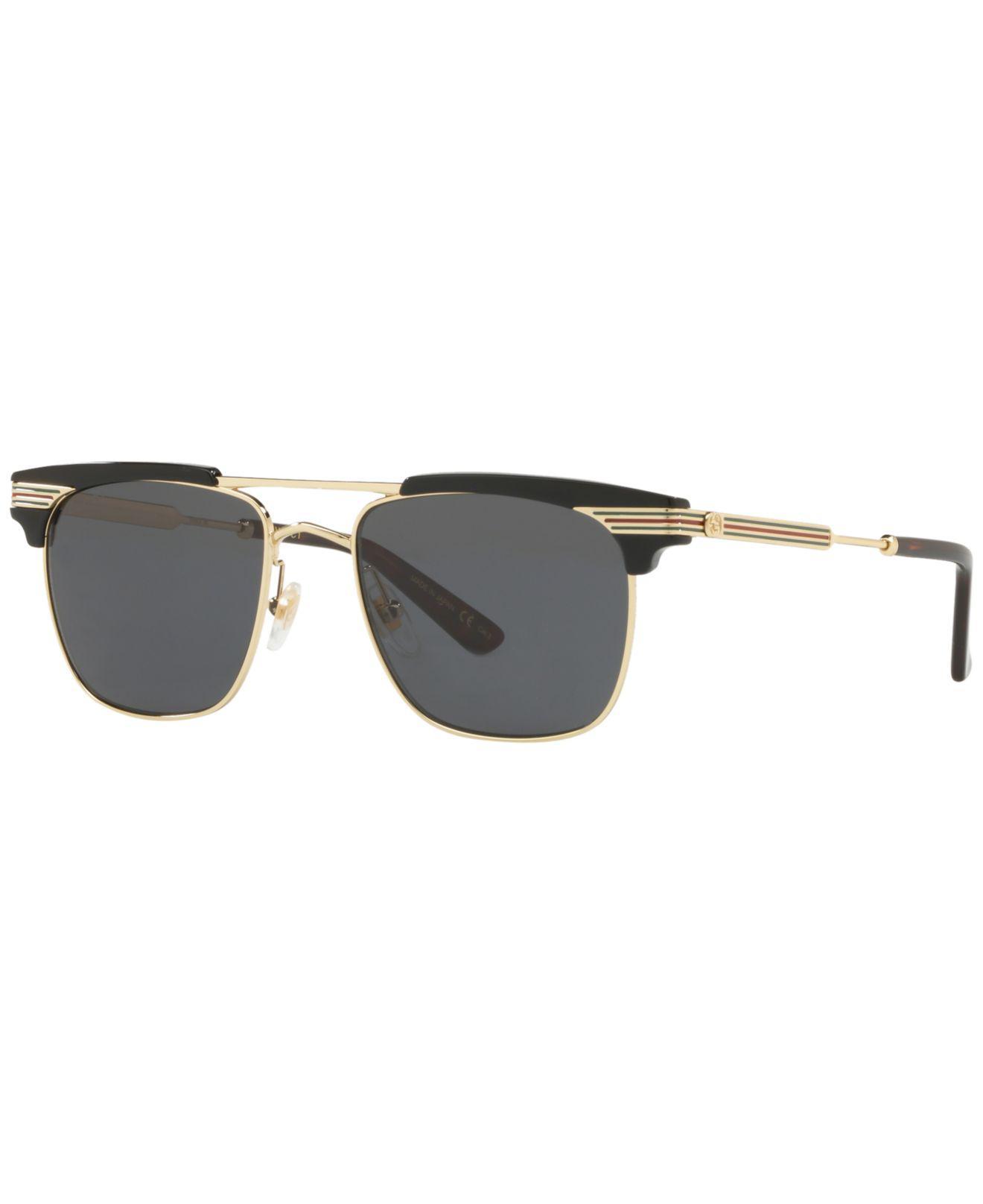 1e9d1128504 Gucci. Men s Gray Sunglasses ...