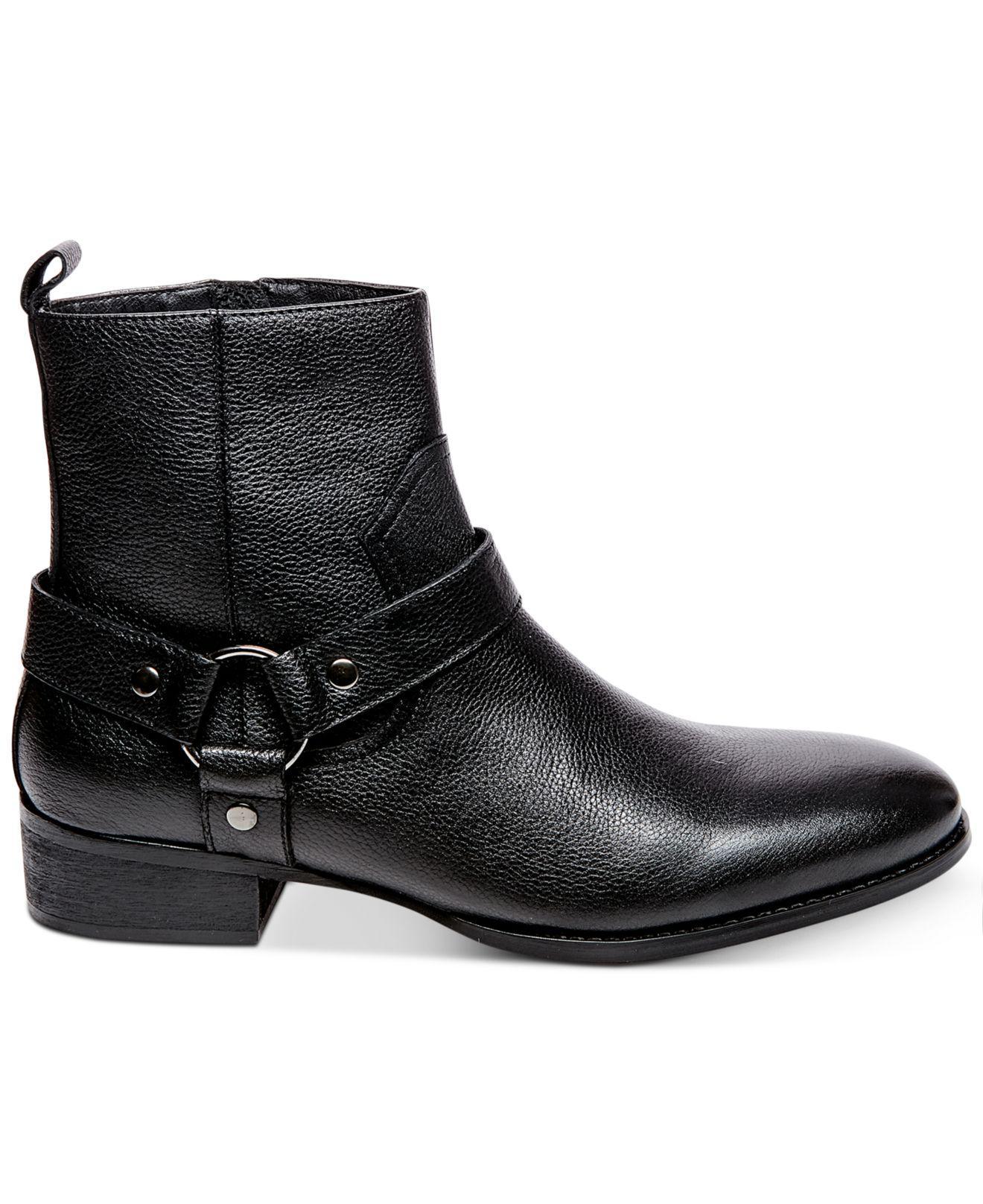 d7a604cf91b Lyst - Steve Madden Men s Palazzo Side-zip Boots in Black for Men