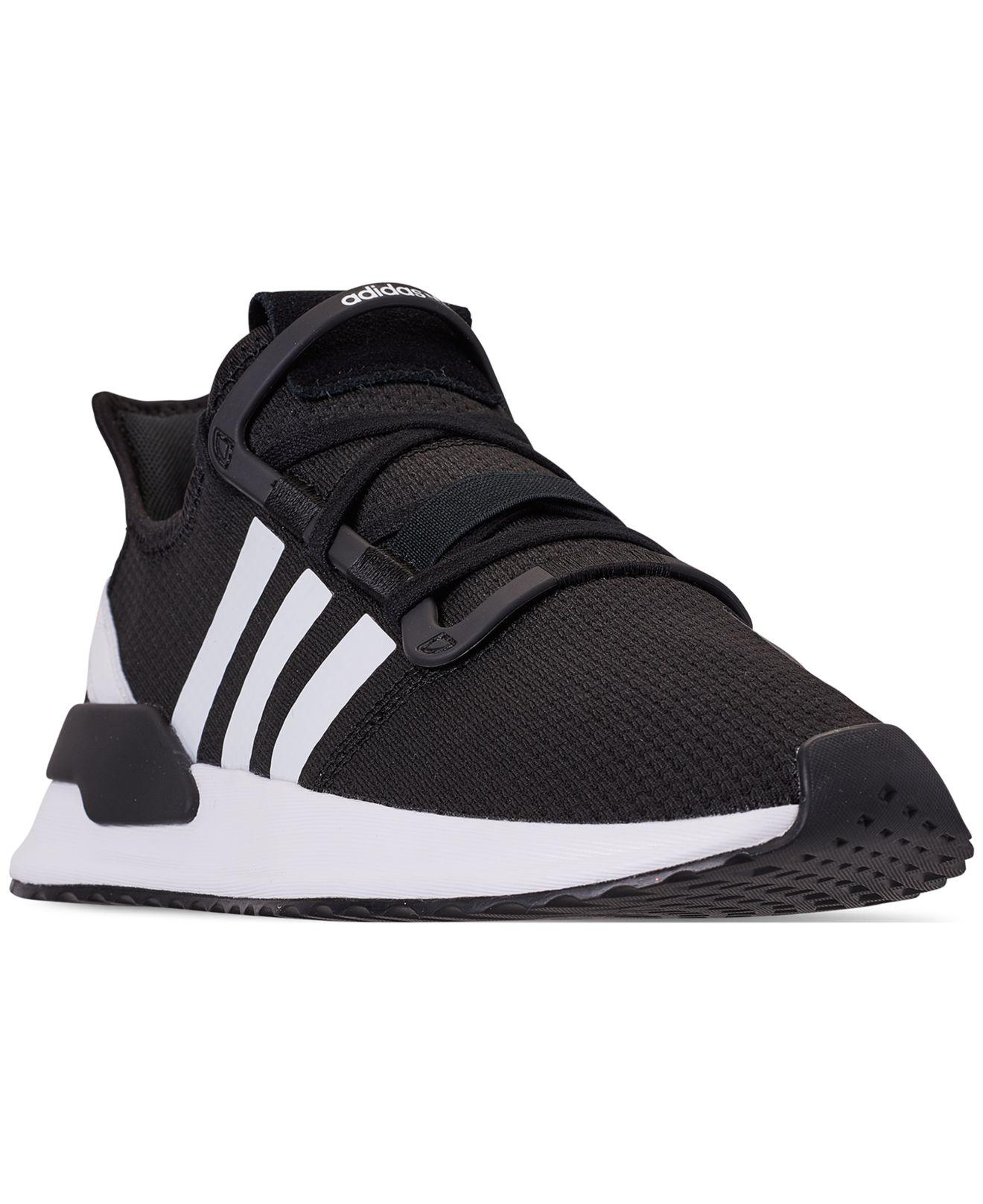 98f832779 Lyst - adidas U path Run Casual Sneakers From Finish Line in Black ...