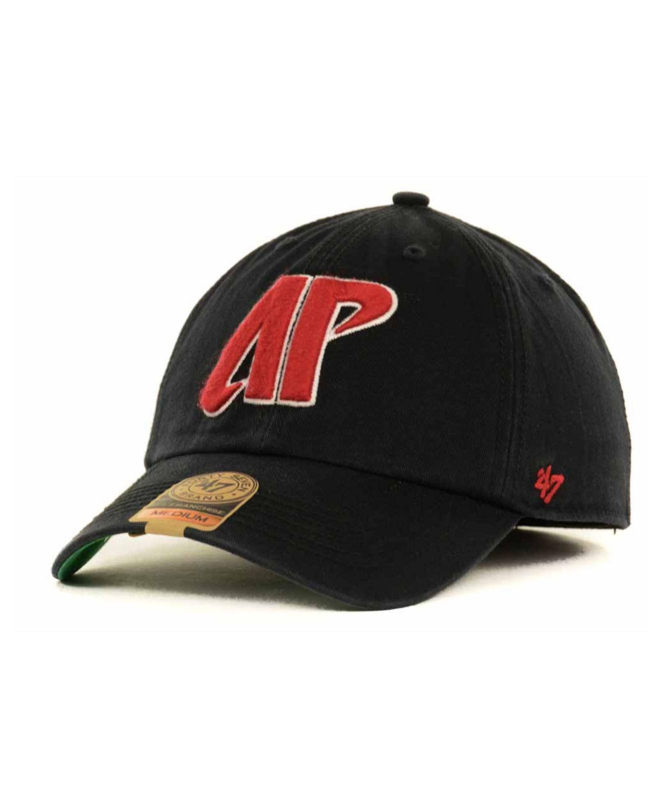separation shoes 91837 2a394 ... aliexpress 47 brand. mens black austin peay governors ncaa 47 franchise  cap 37220 ee917