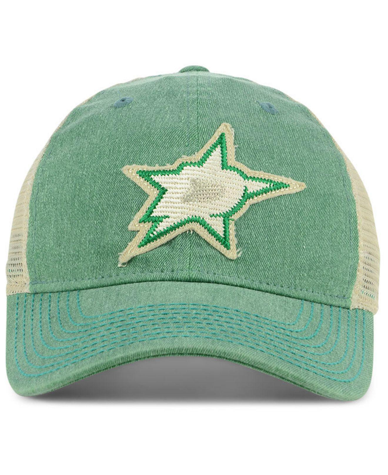 new arrival c5aa0 2028c ... germany lyst adidas dallas stars sun bleached slouch cap in green for  men save 25.925925925925924 68131