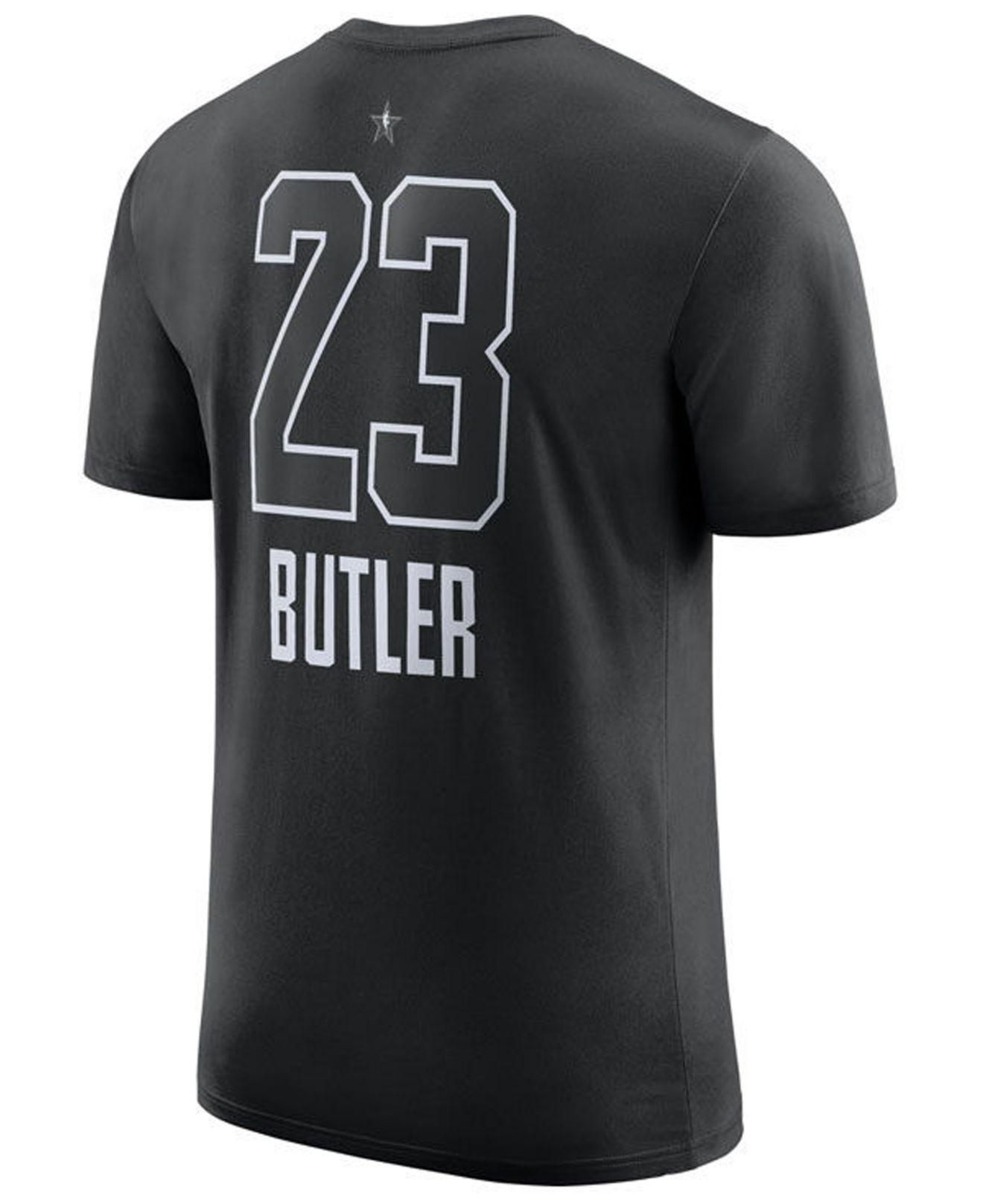 cedec56a5ce Nike. Men s Black Jimmy Butler Minnesota Timberwolves All-star Player T- shirt