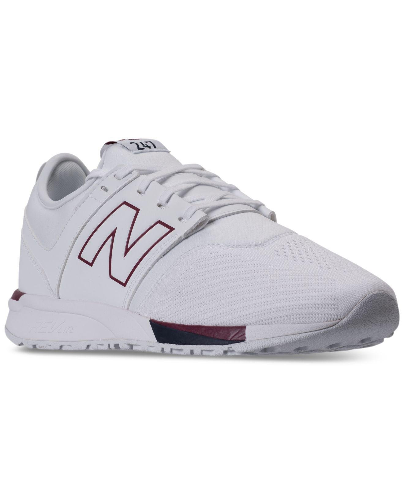 cb054c857278e Synthetic Synthetic Lyst For In In In 247 White New Balance Men Casual Men's  Sneakers qaaPpwI .