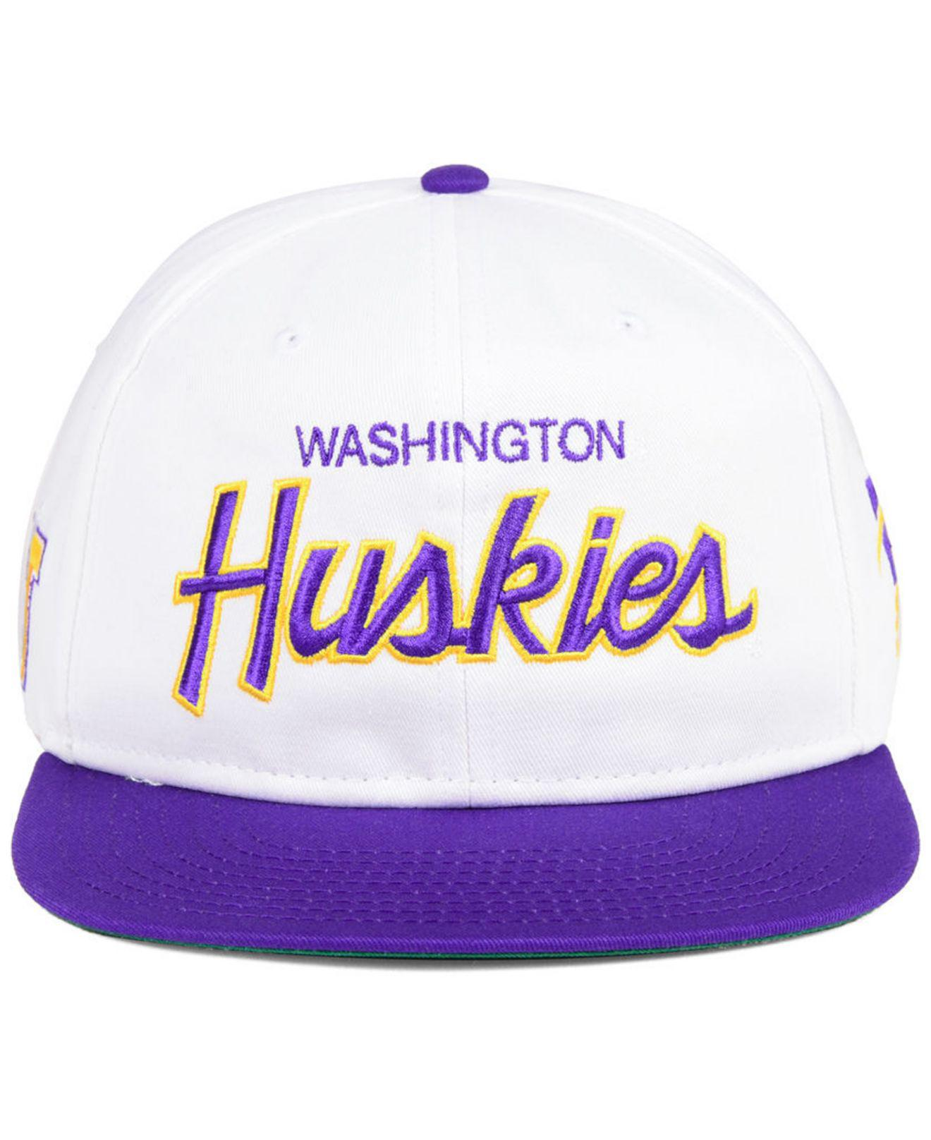 buy popular e3b0e a1a77 ... coupon lyst nike washington huskies sport specialties snapback cap in  3870a 3b9a2