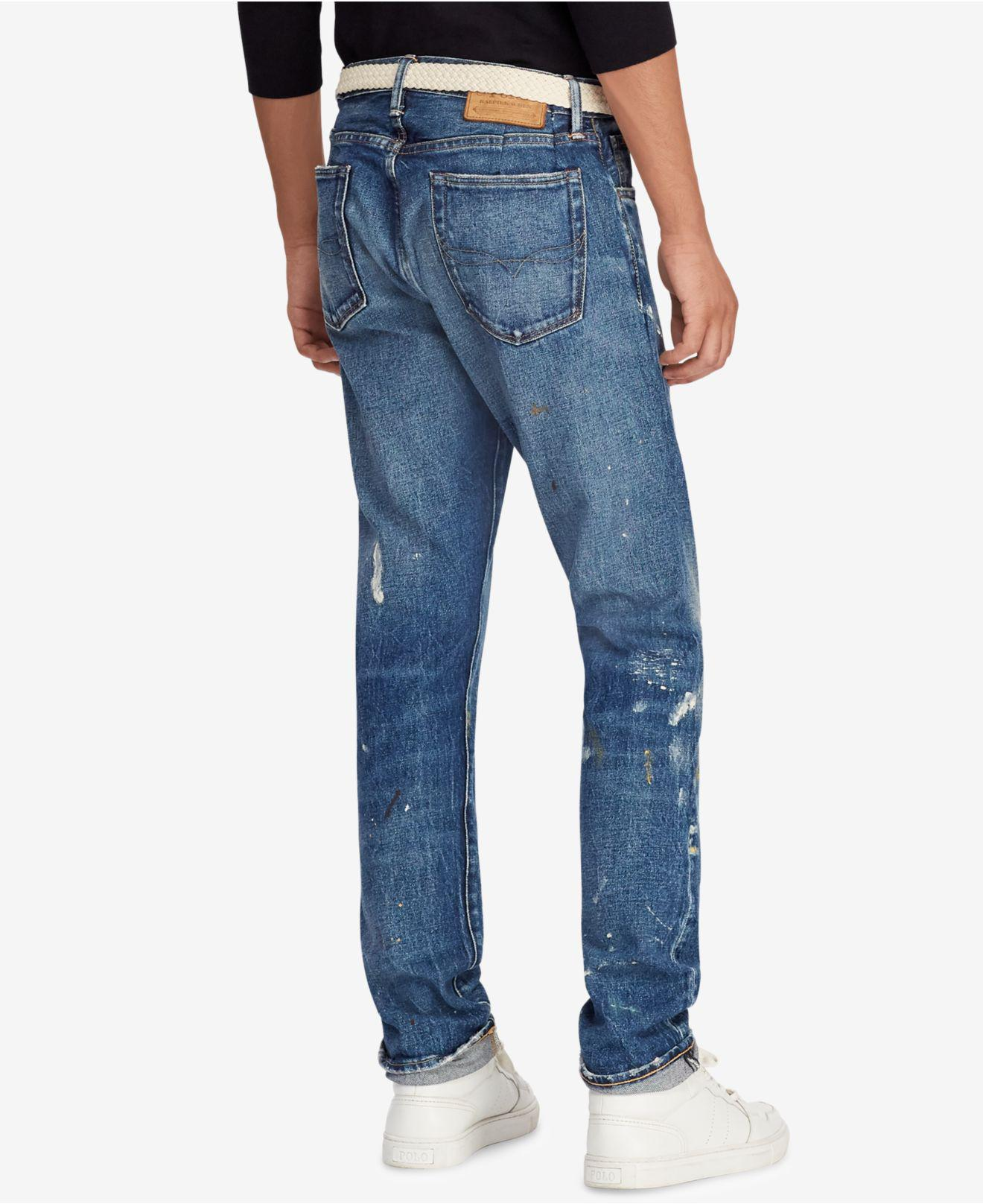 a1c592709 Lyst - Polo Ralph Lauren Great Outdoors Sullivan Slim Fit Stretch Jeans In  Blue in Blue for Men - Save 15%