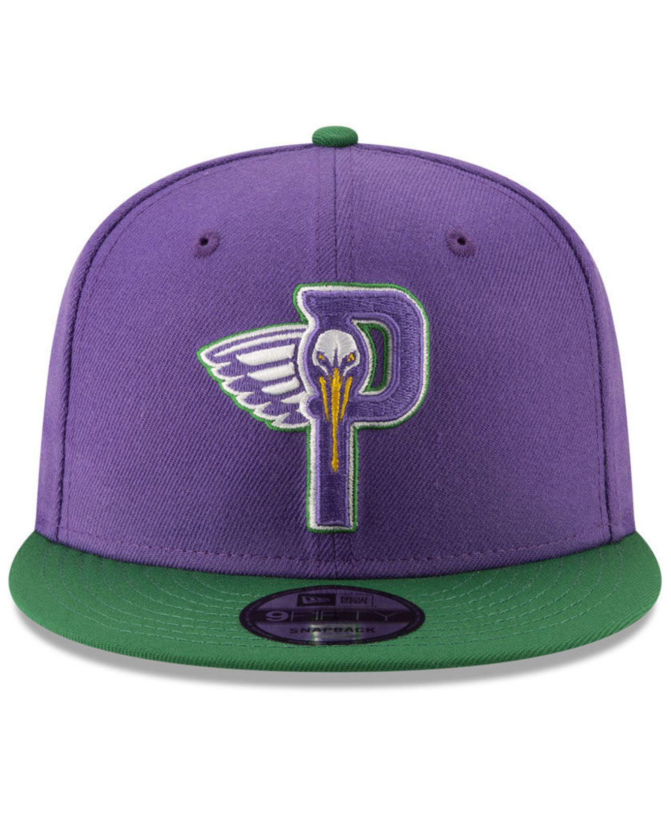 outlet store a9af8 9ab90 ... discount code for lyst ktz new orleans pelicans light city combo 9fifty  snapback cap in purple