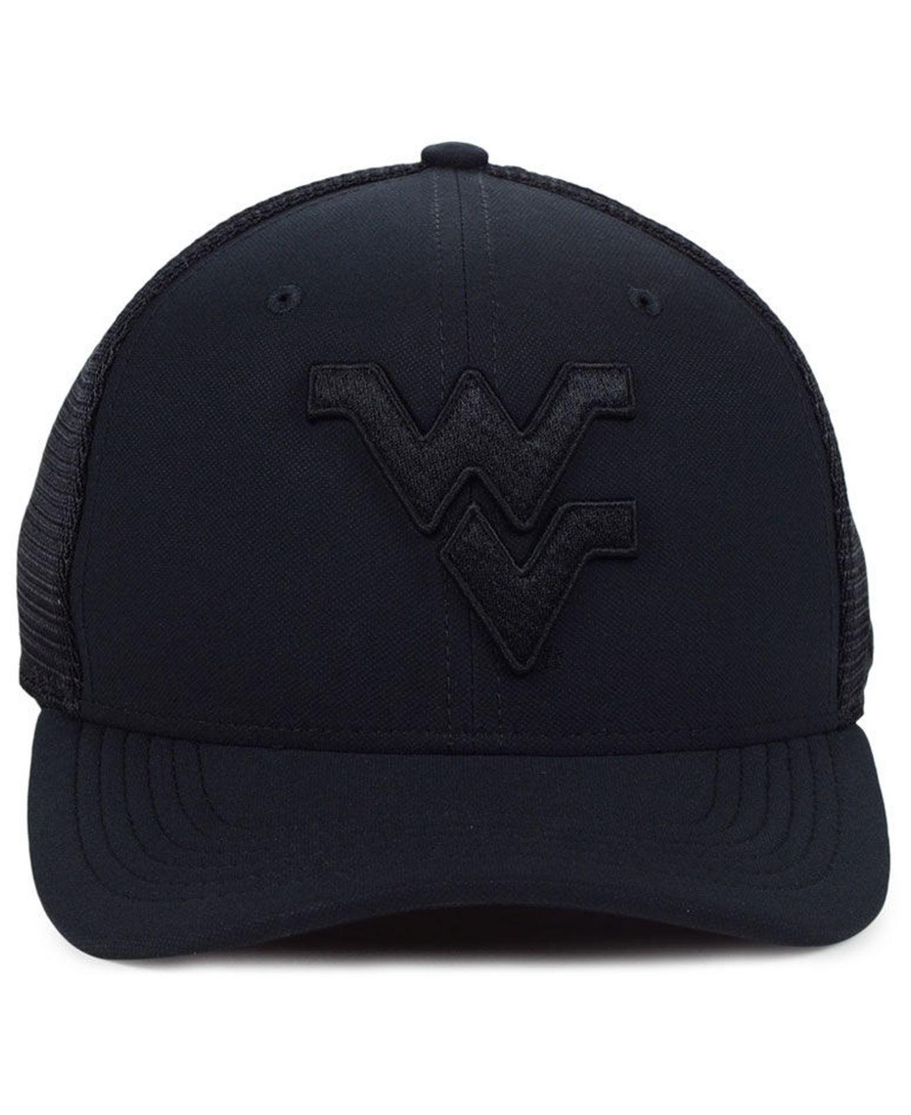 4e8349685d9 Lyst - Nike West Virginia Mountaineers Aerobill Black Swoosh Cap in Black  for Men
